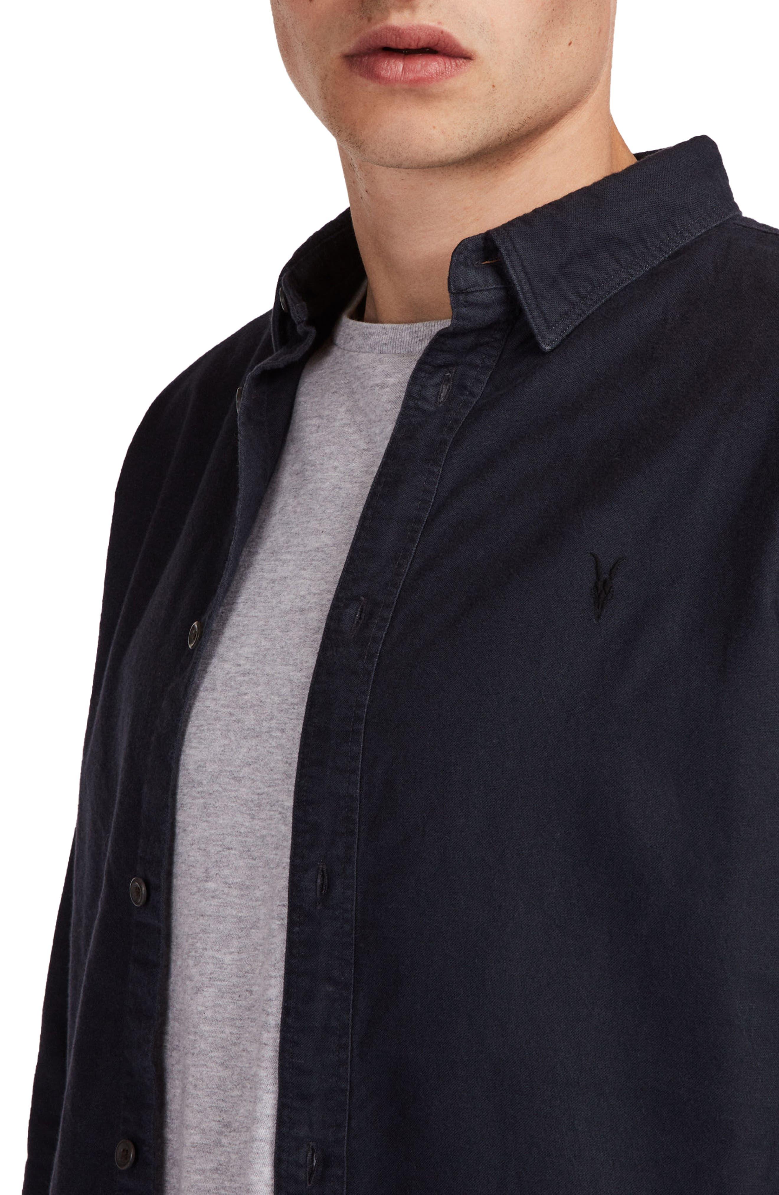 Huntington Regular Fit Sport Shirt,                             Alternate thumbnail 22, color,