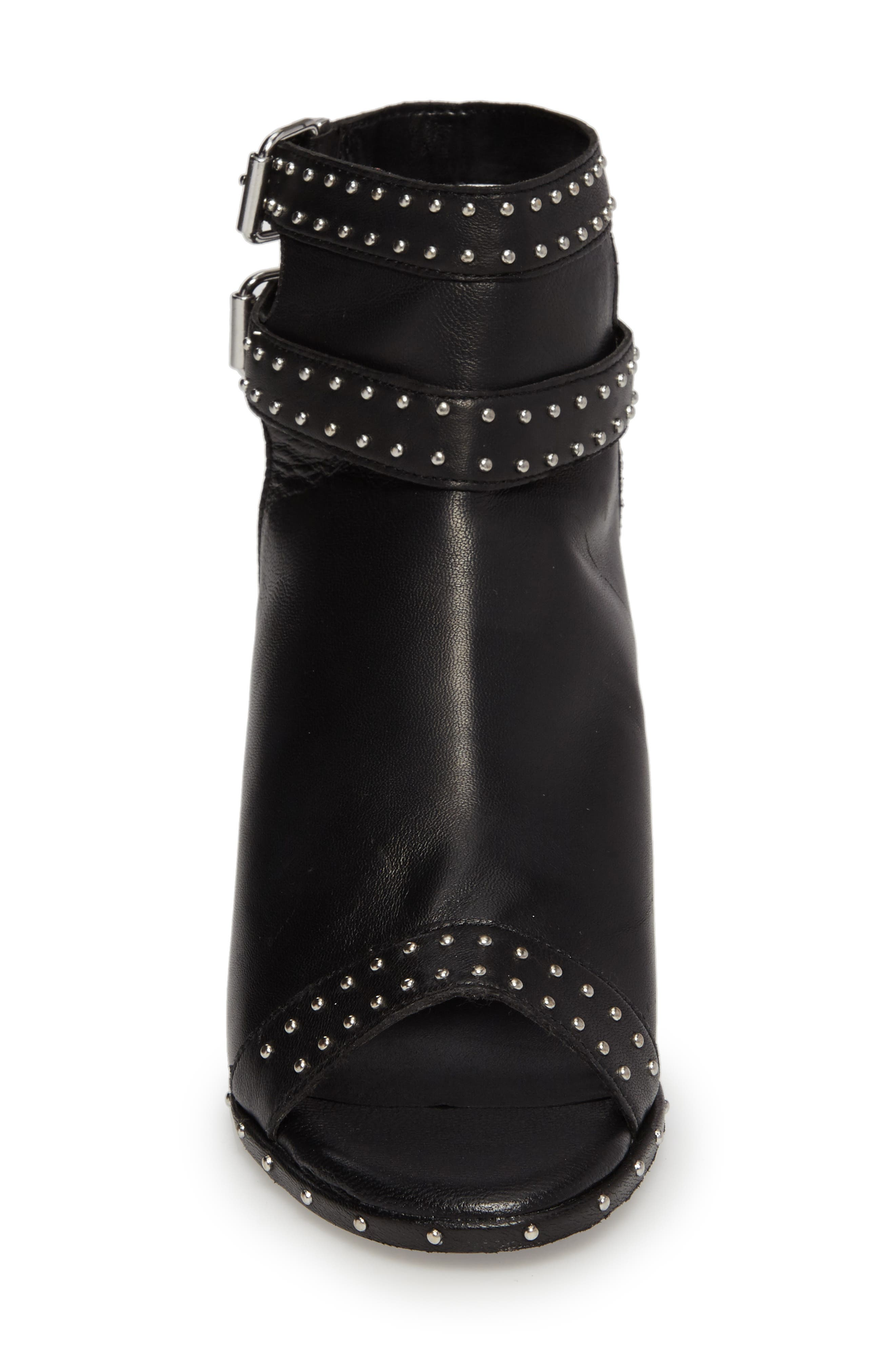 North Studded Bootie Sandal,                             Alternate thumbnail 4, color,                             001