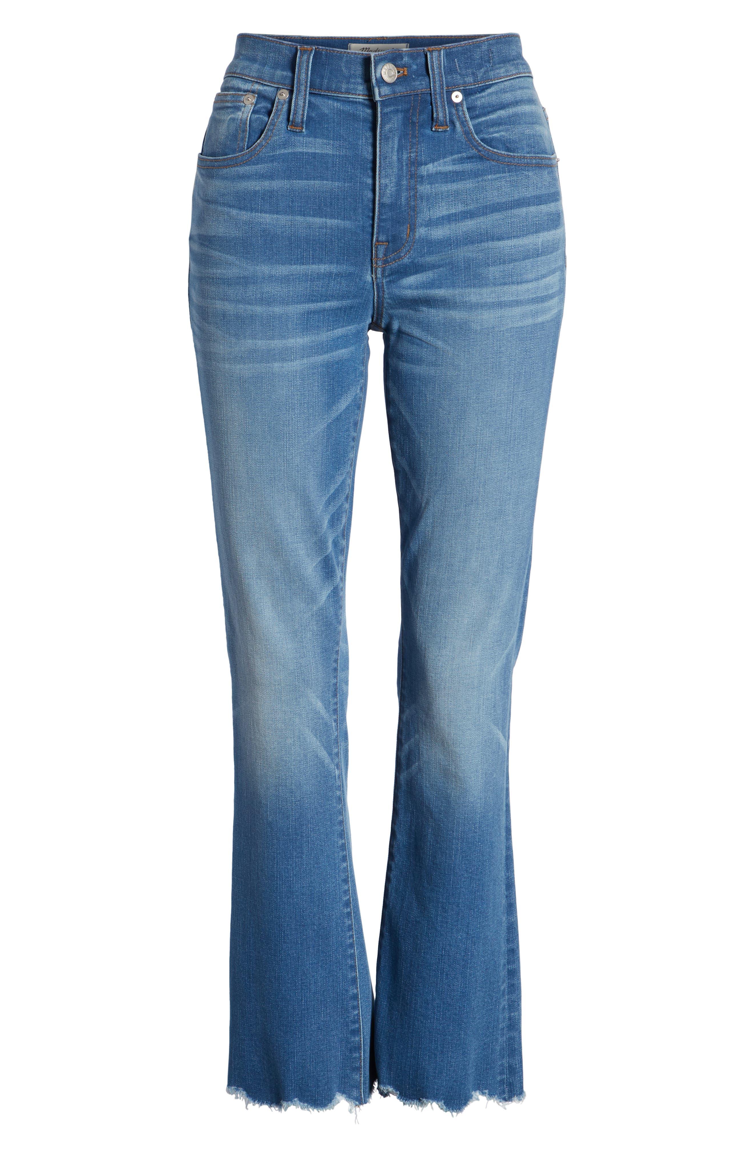 Cali Demi Boot Jeans,                             Alternate thumbnail 7, color,                             400