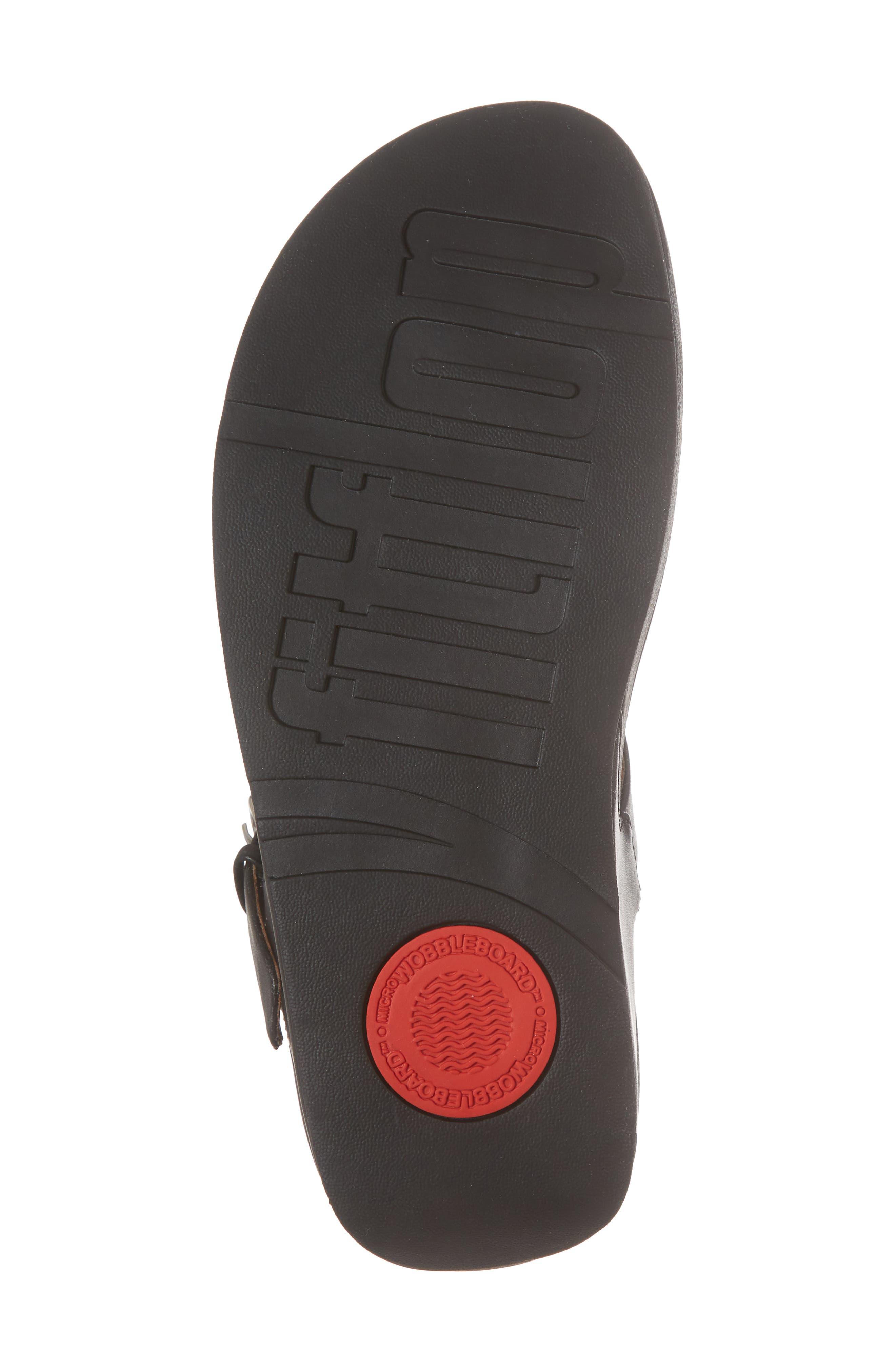 The Skinny Embellished V-Strap Thong Sandal,                             Alternate thumbnail 6, color,                             001