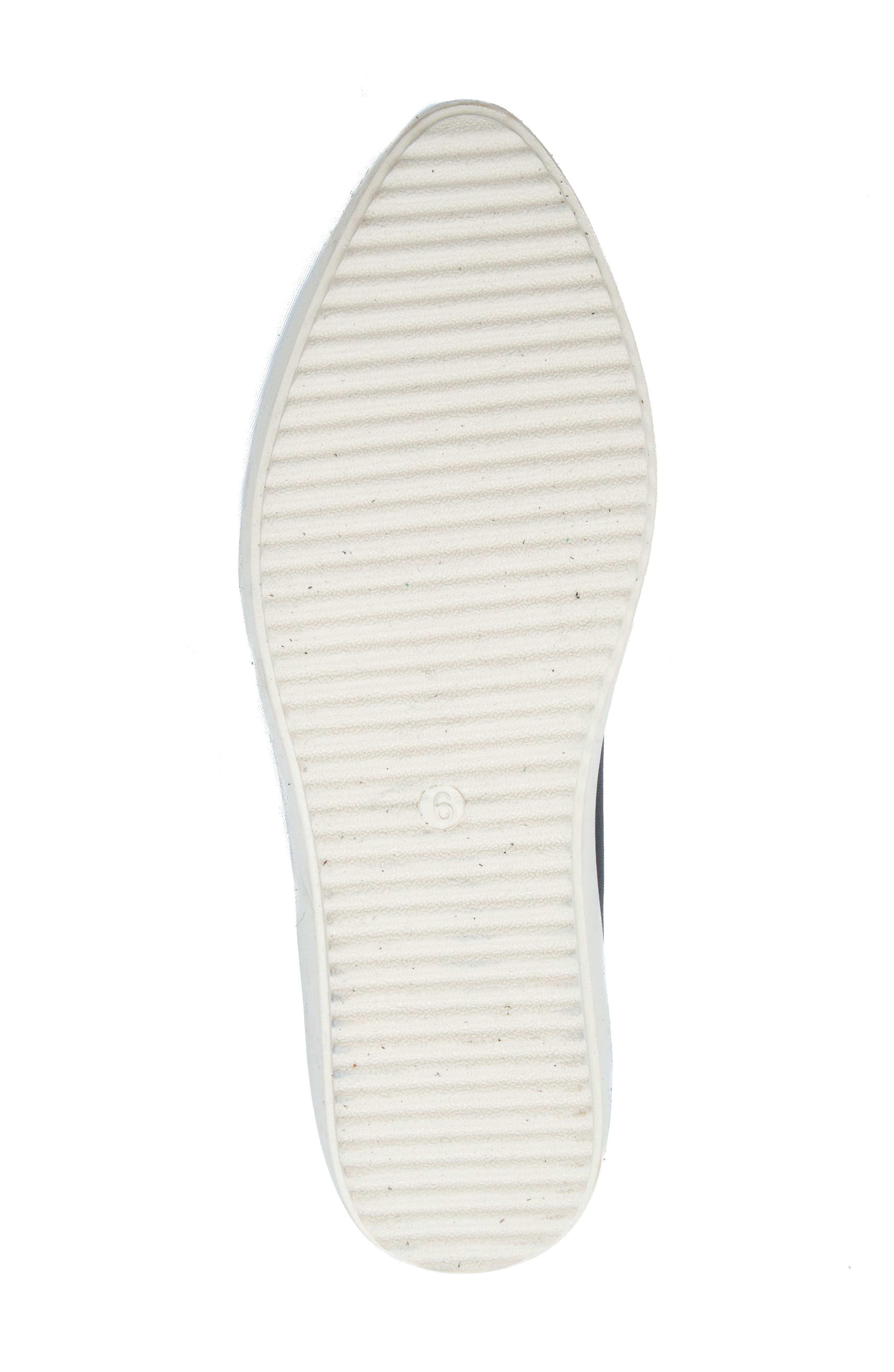 Roe Slip-On Sneaker,                             Alternate thumbnail 6, color,                             001