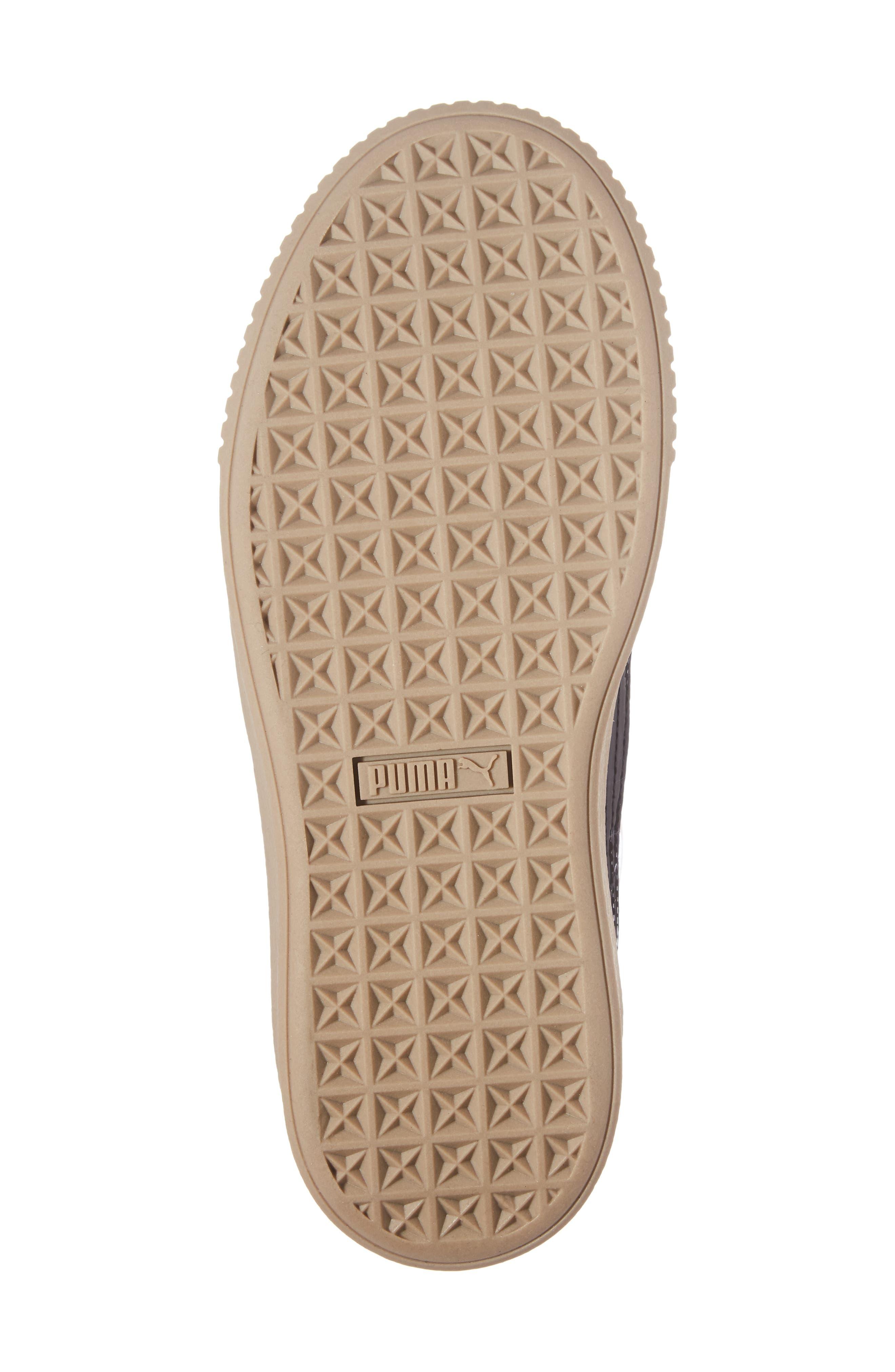 Basket Platform Sneaker,                             Alternate thumbnail 17, color,