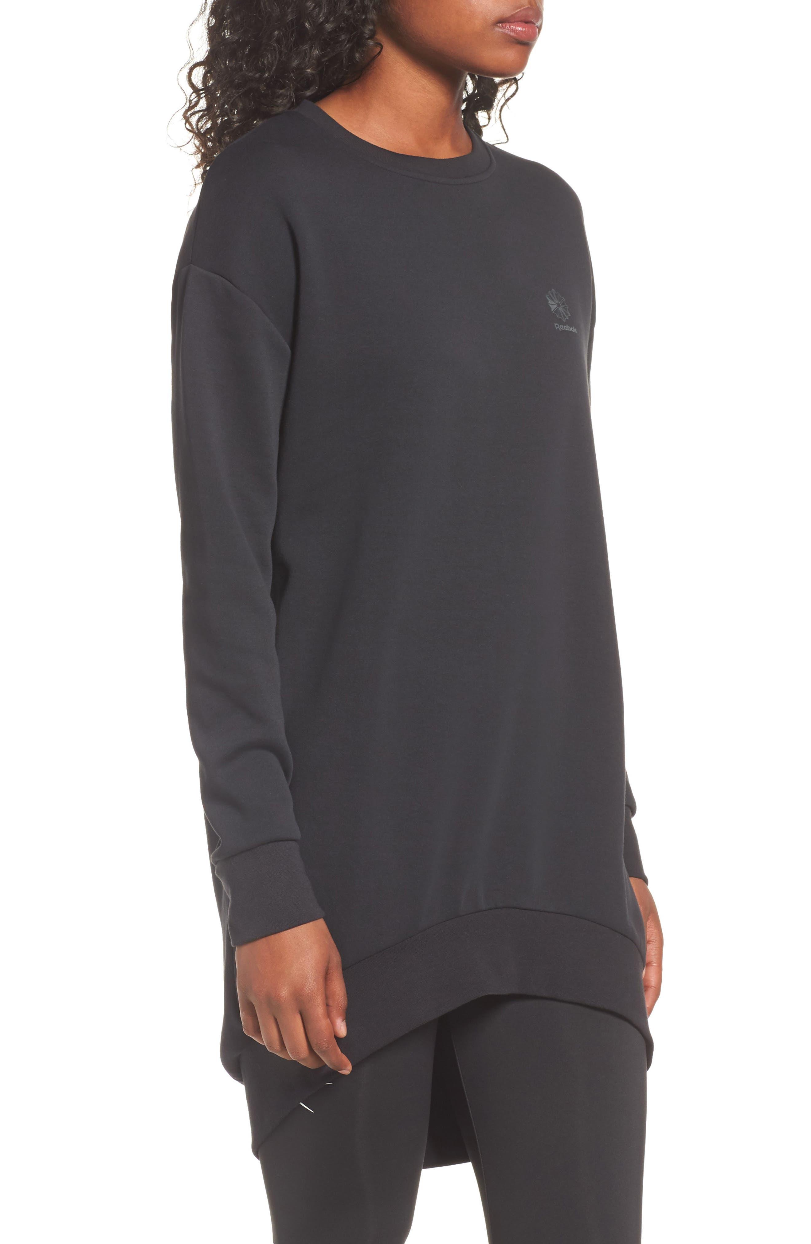 Oversized Sweatshirt,                             Alternate thumbnail 3, color,                             005