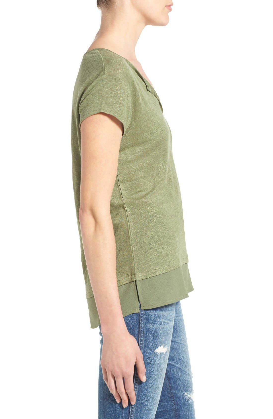 City Mix Layered Look Tee,                             Alternate thumbnail 88, color,