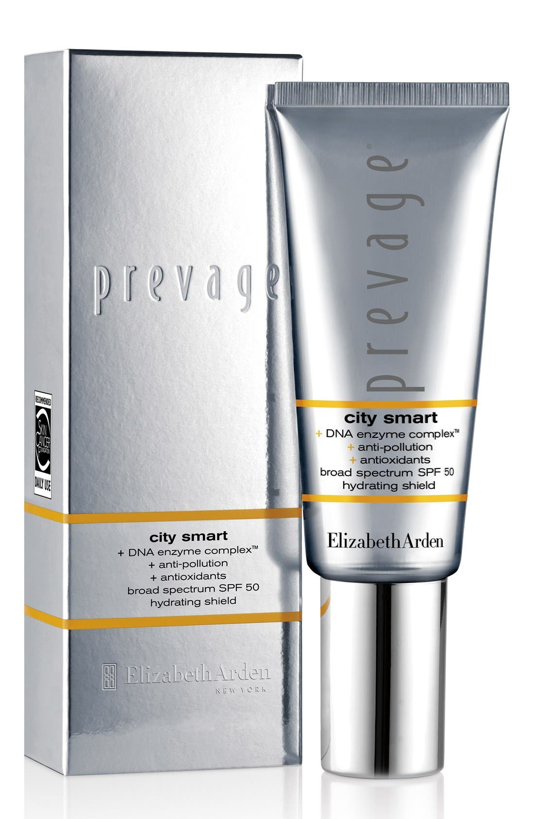 PREVAGE<sup>®</sup> City Smart Broad Spectrum SPF 50 Hydrating Shield,                             Alternate thumbnail 2, color,                             NO COLOR