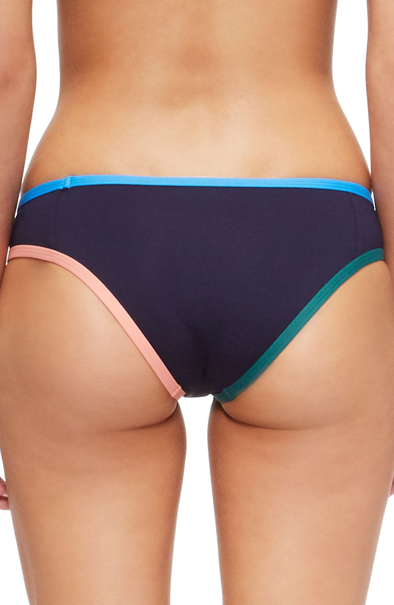 Jayden Bikini Bottoms,                             Alternate thumbnail 2, color,                             EVENING BLUE/ FRENCH BLUE