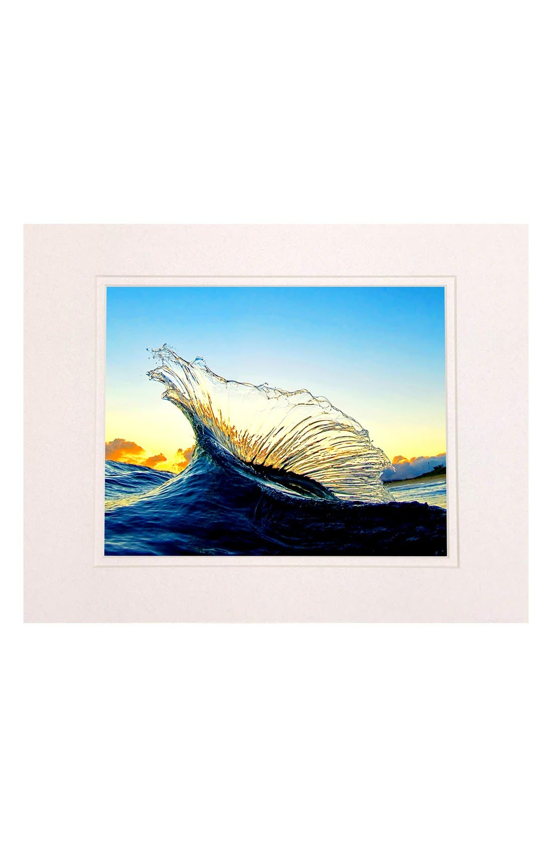 'Marlin' Matted Print,                             Main thumbnail 1, color,                             400