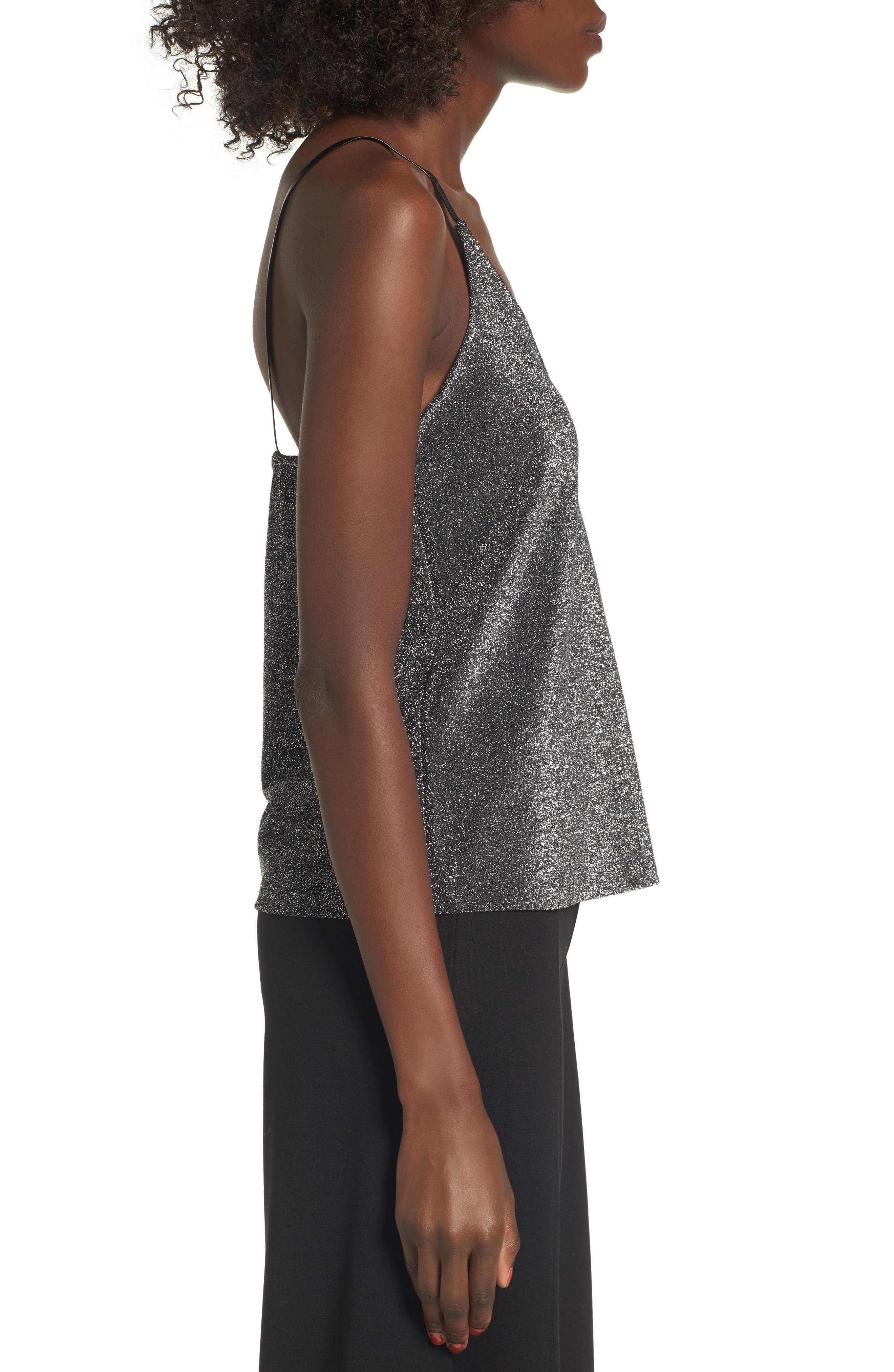 Shimmer Camisole,                             Alternate thumbnail 3, color,