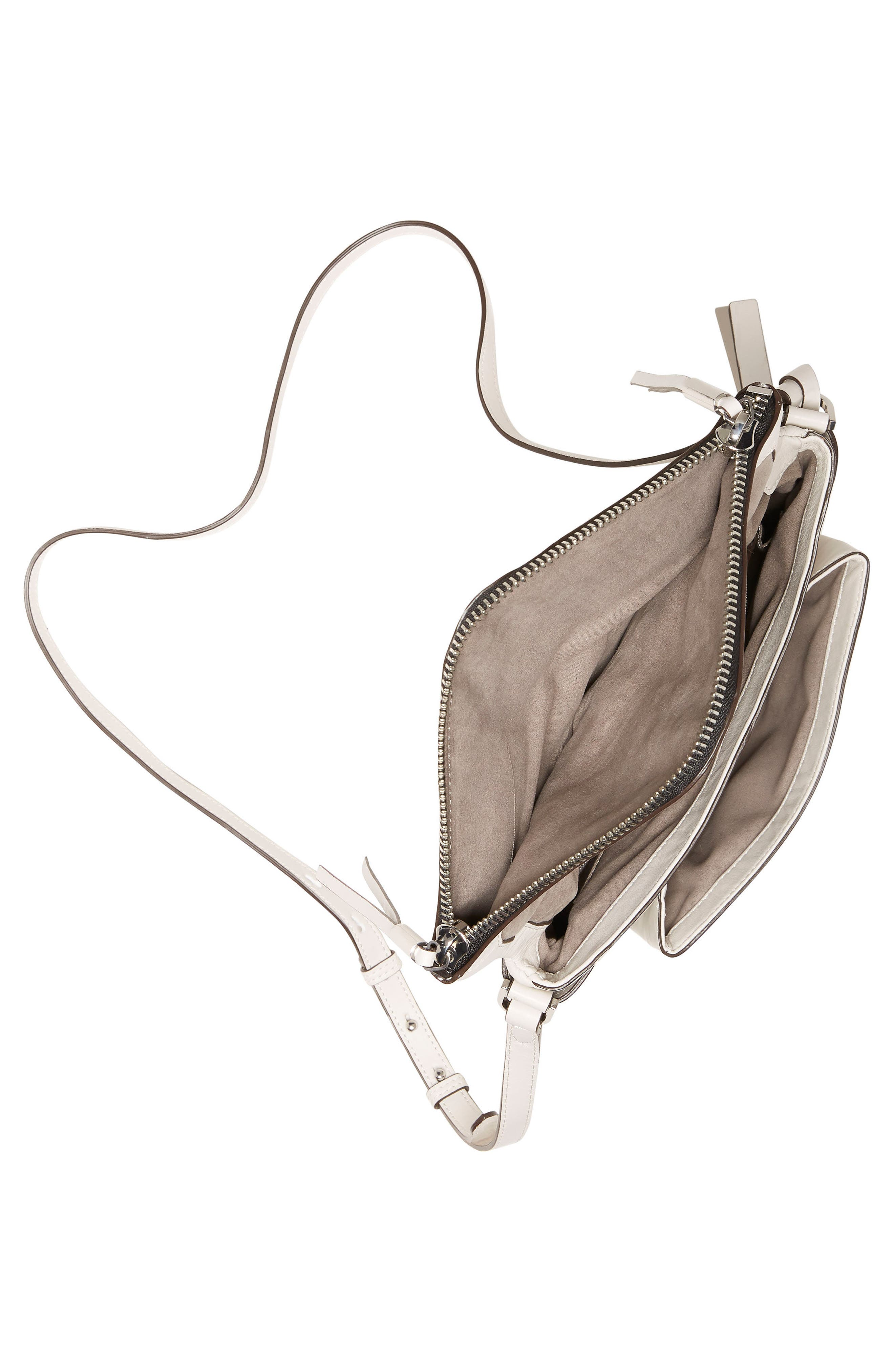 Alder Leather Crossbody Bag,                             Alternate thumbnail 8, color,