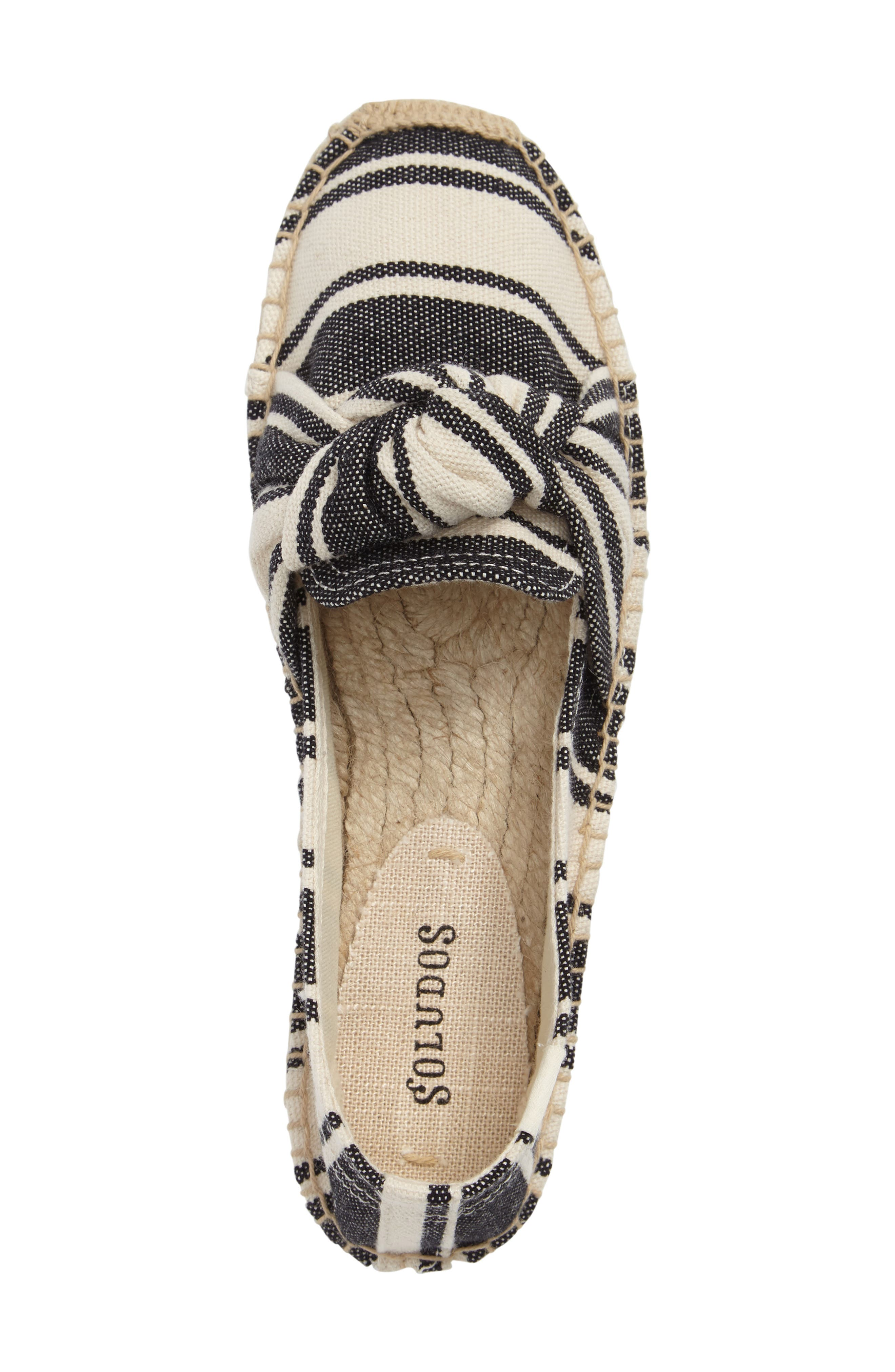 Knotted Smoking Slipper Flat,                             Alternate thumbnail 3, color,                             250