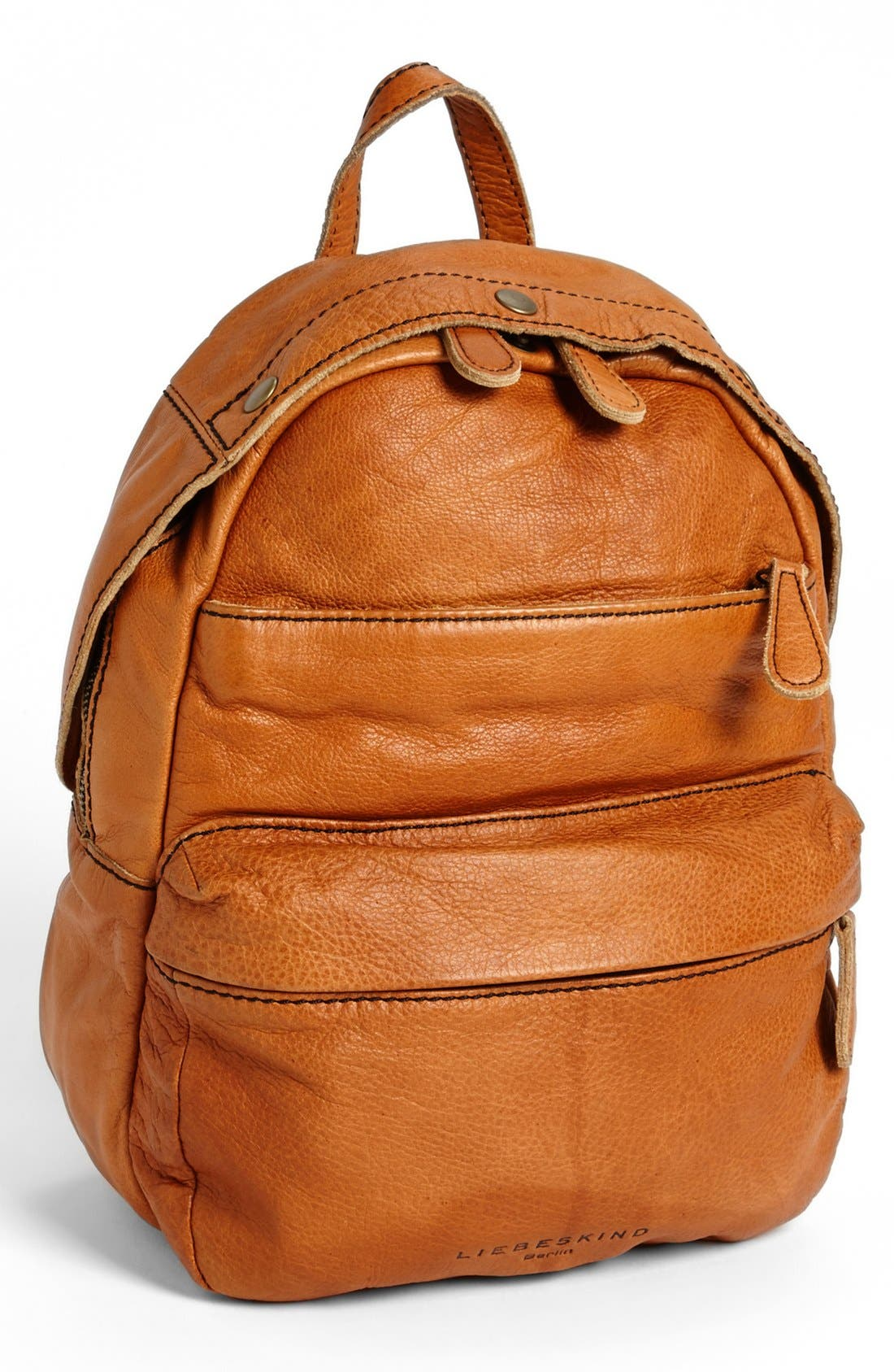 LIEBESKIND 'Lora' Leather Backpack, Main, color, 250