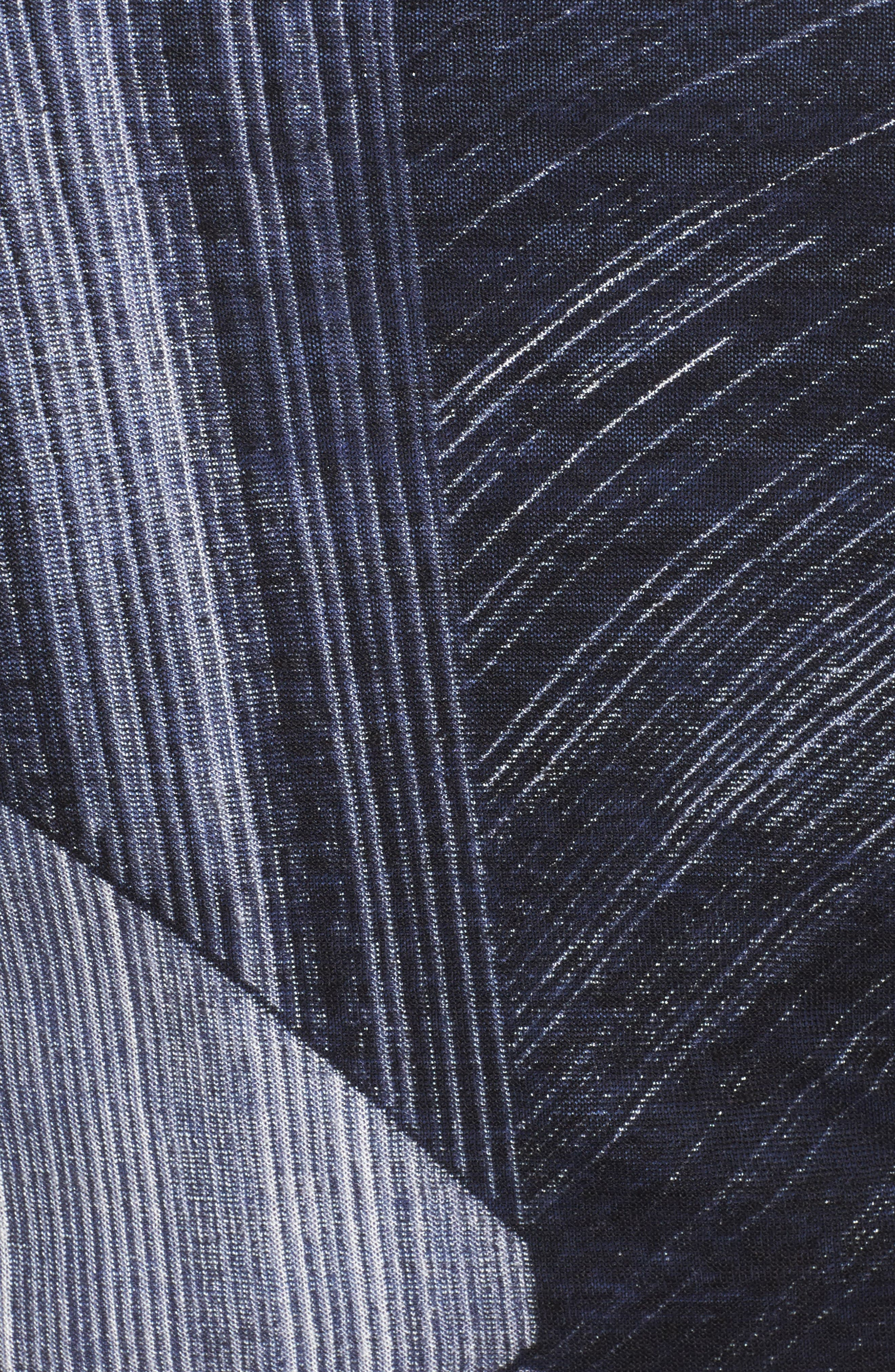 Waterfall 4-Way Convertible Cardigan,                             Alternate thumbnail 5, color,                             001