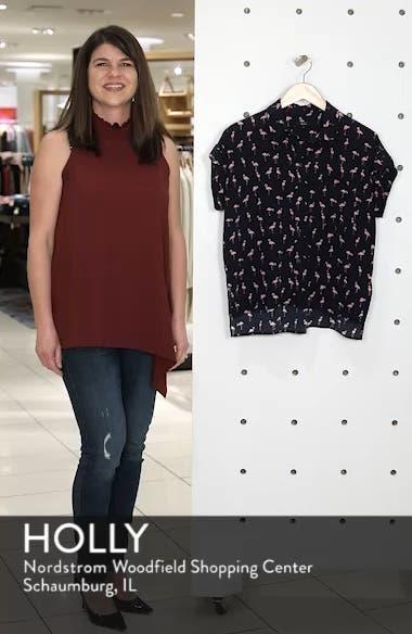 Whitney Print Shirt, sales video thumbnail