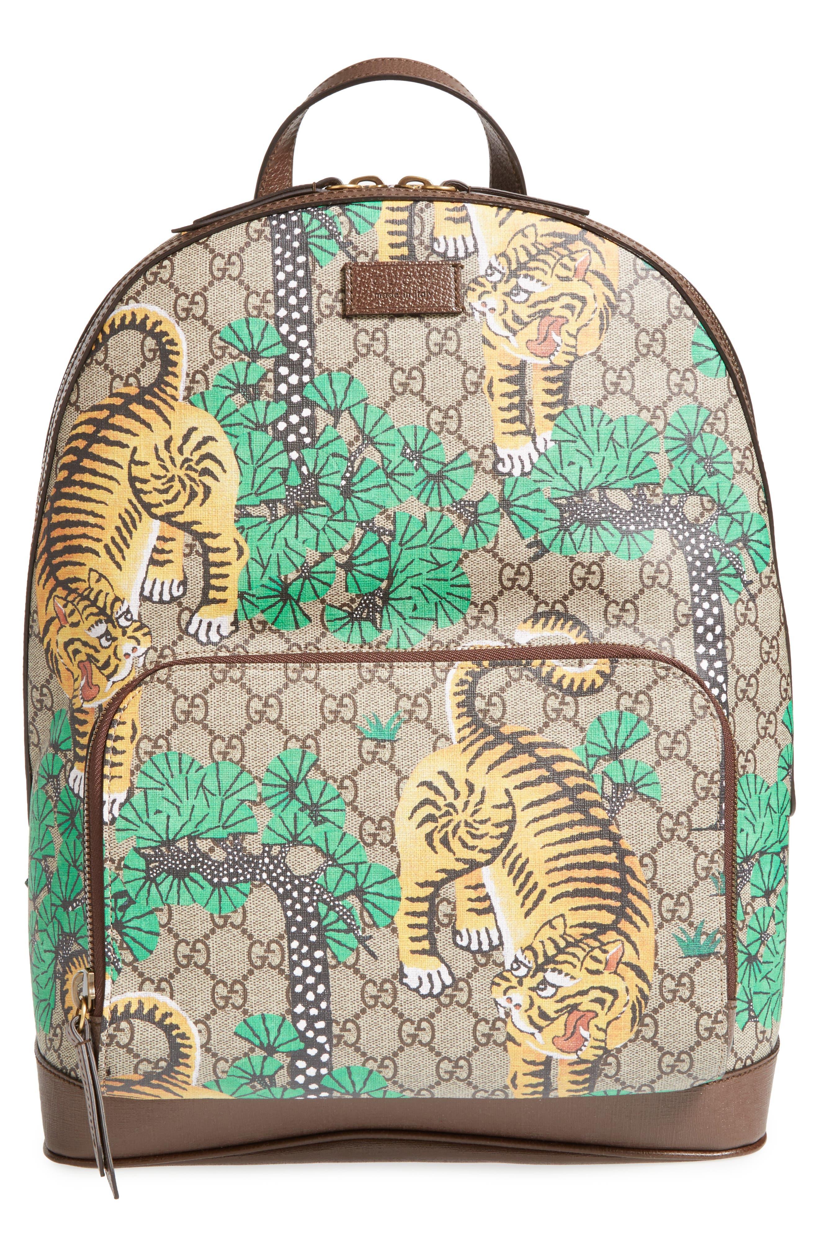 Tiger Cub Supreme Canvas Backpack, Main, color, 250