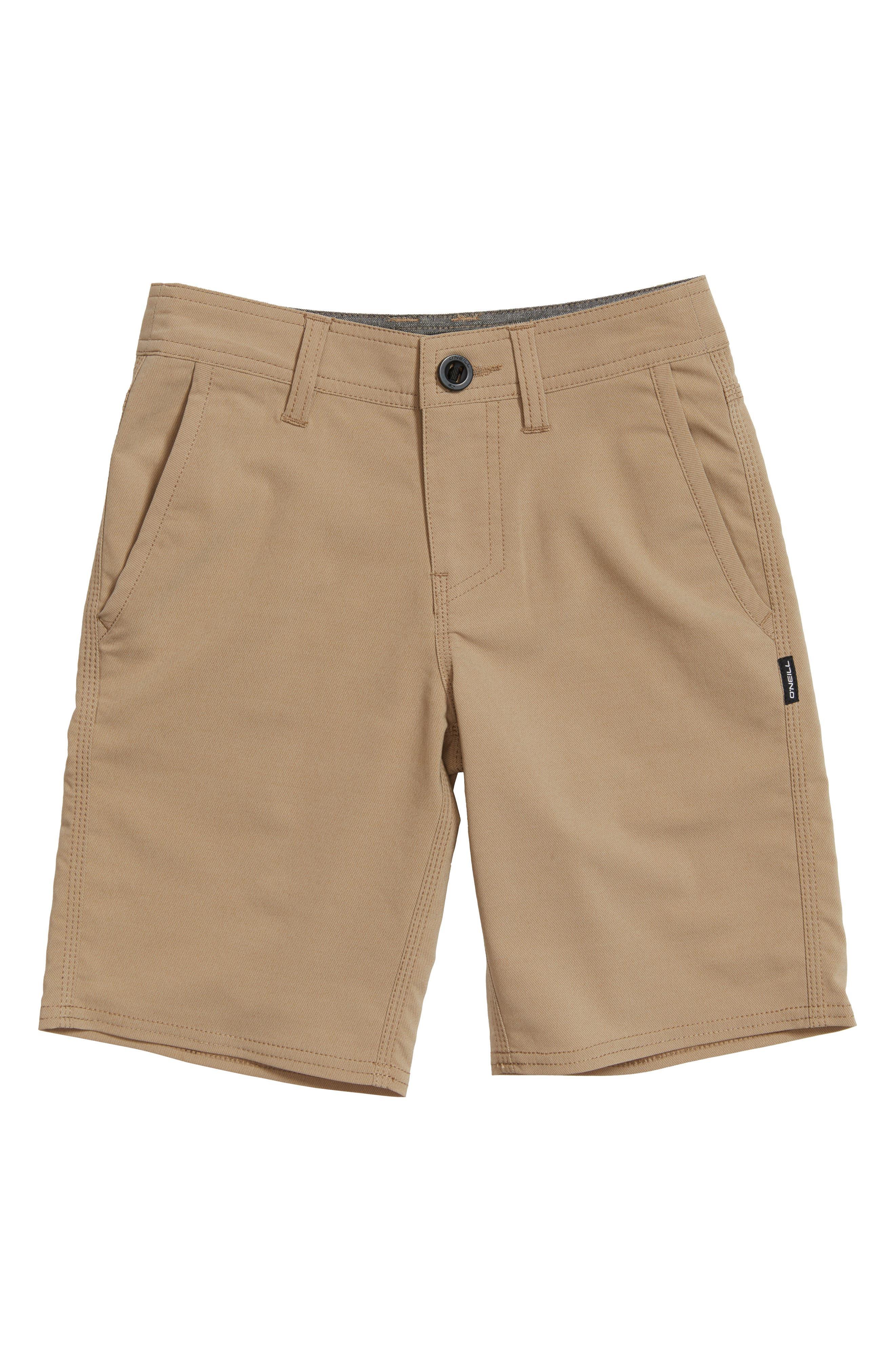 Boys ONeill Stockton Hybrid Shorts Size 23  Beige