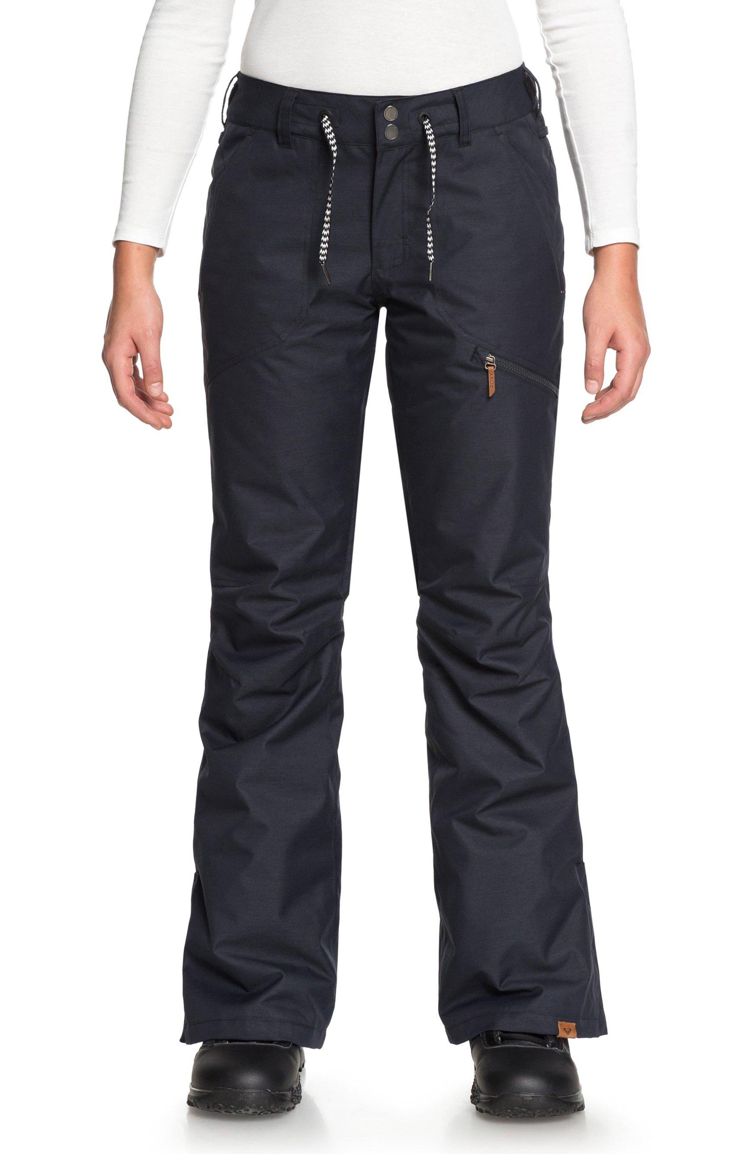 Nadia Snow Pants,                         Main,                         color, TRUE BLACK
