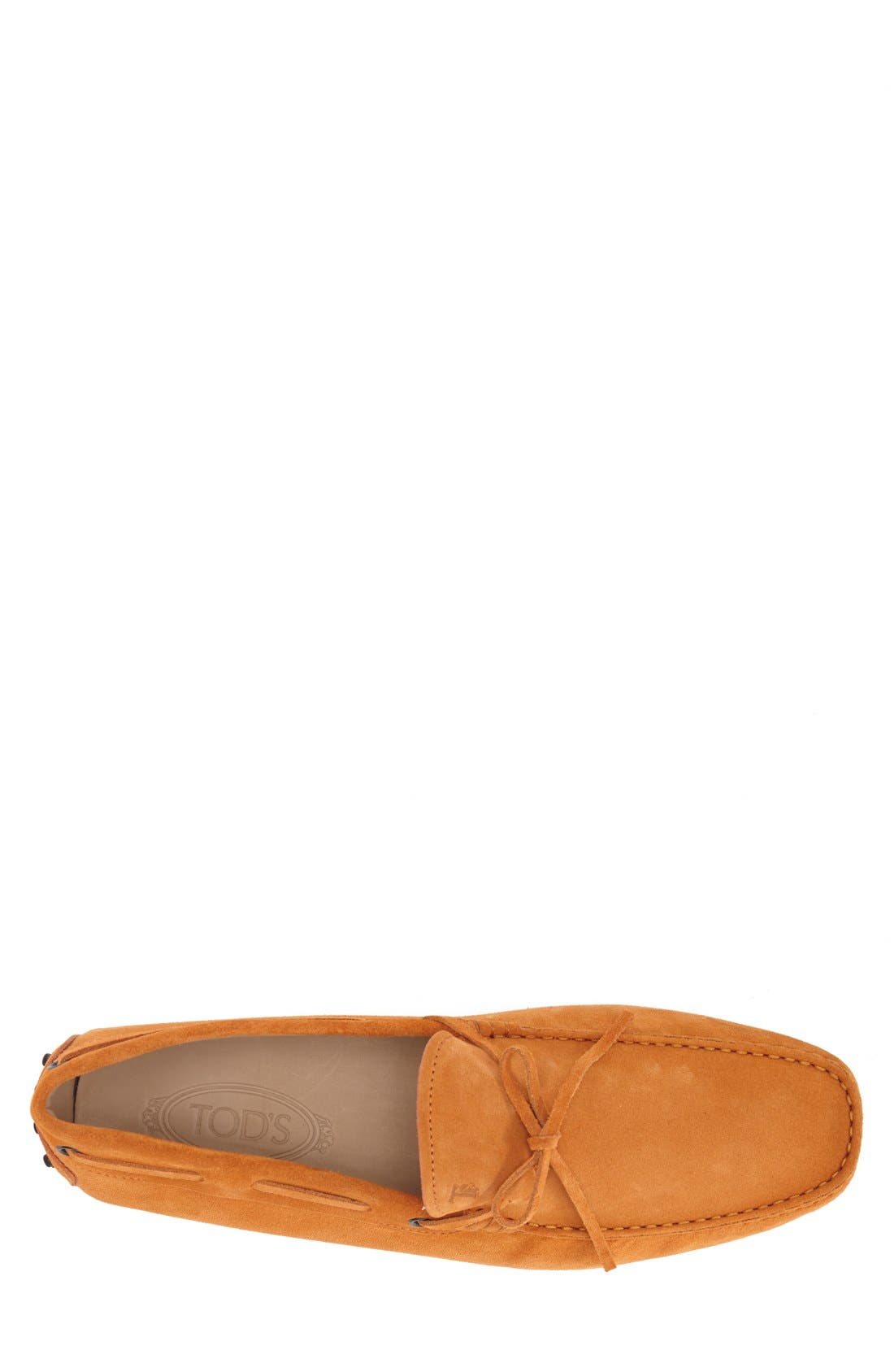 Gommini Tie Front Driving Moccasin,                             Alternate thumbnail 69, color,