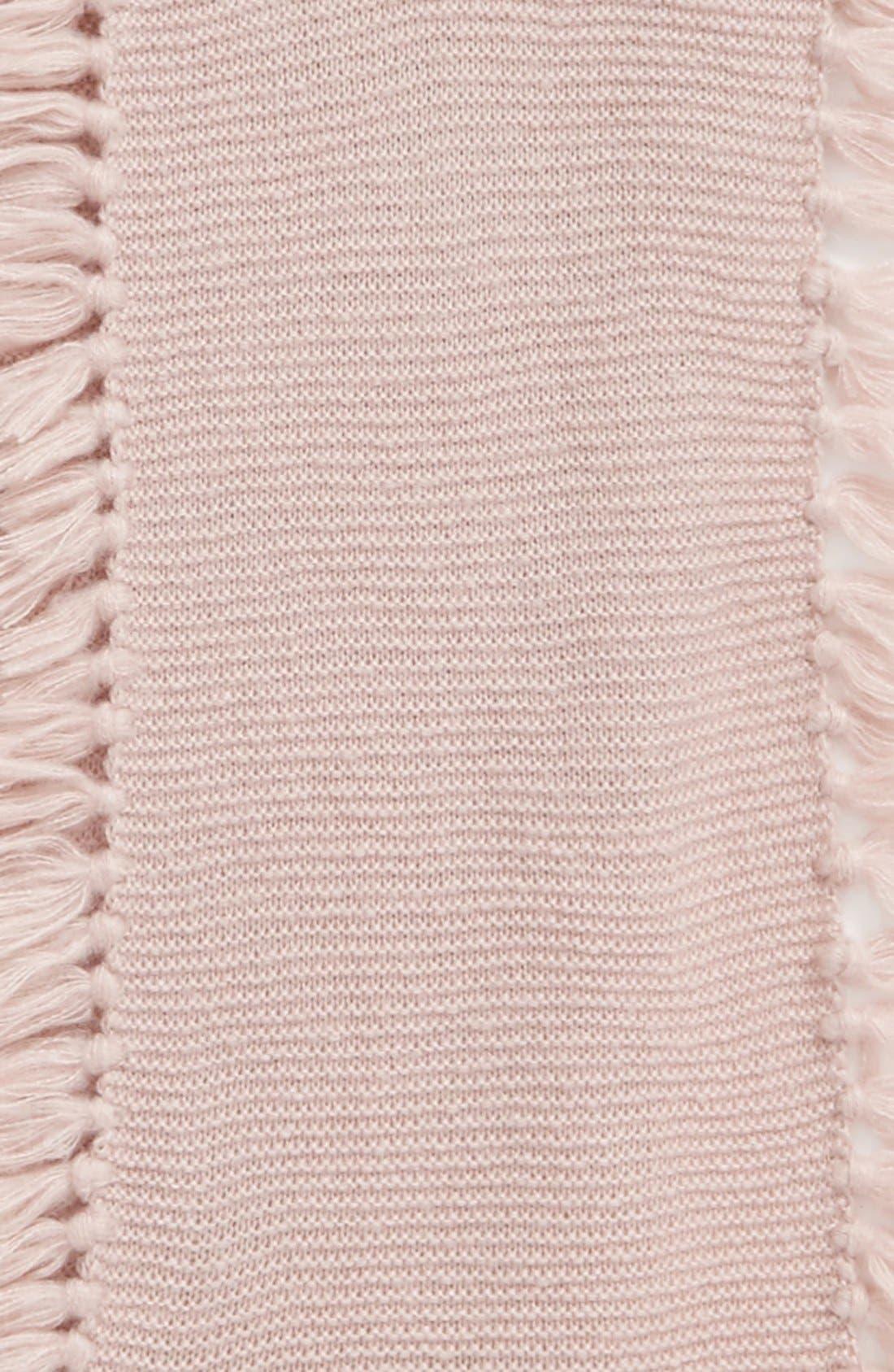 Asymmetrical Fringed Muffler,                             Alternate thumbnail 21, color,