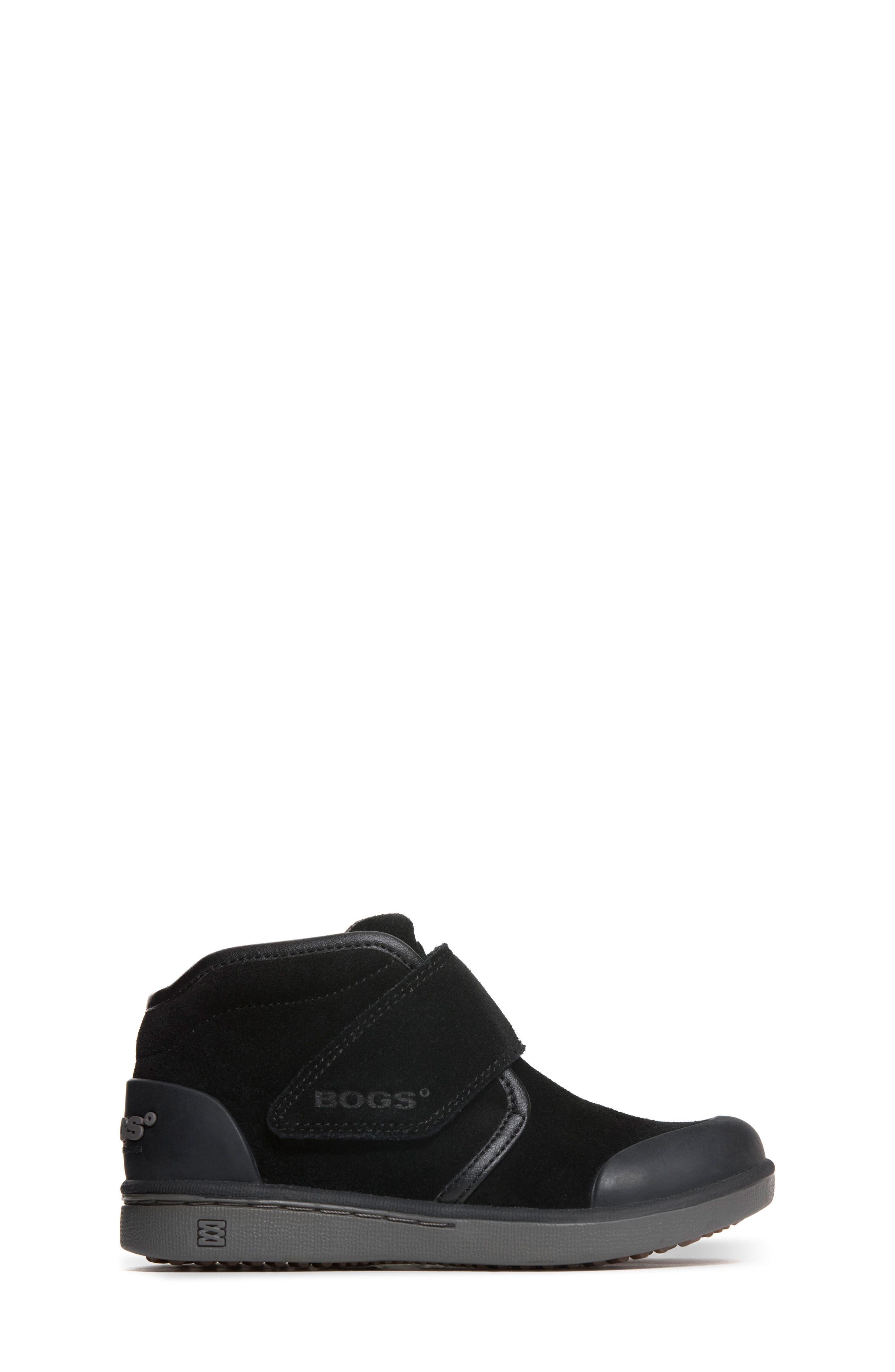 'Sammy' Waterproof Sneaker,                             Alternate thumbnail 3, color,                             BLACK/ BLACK
