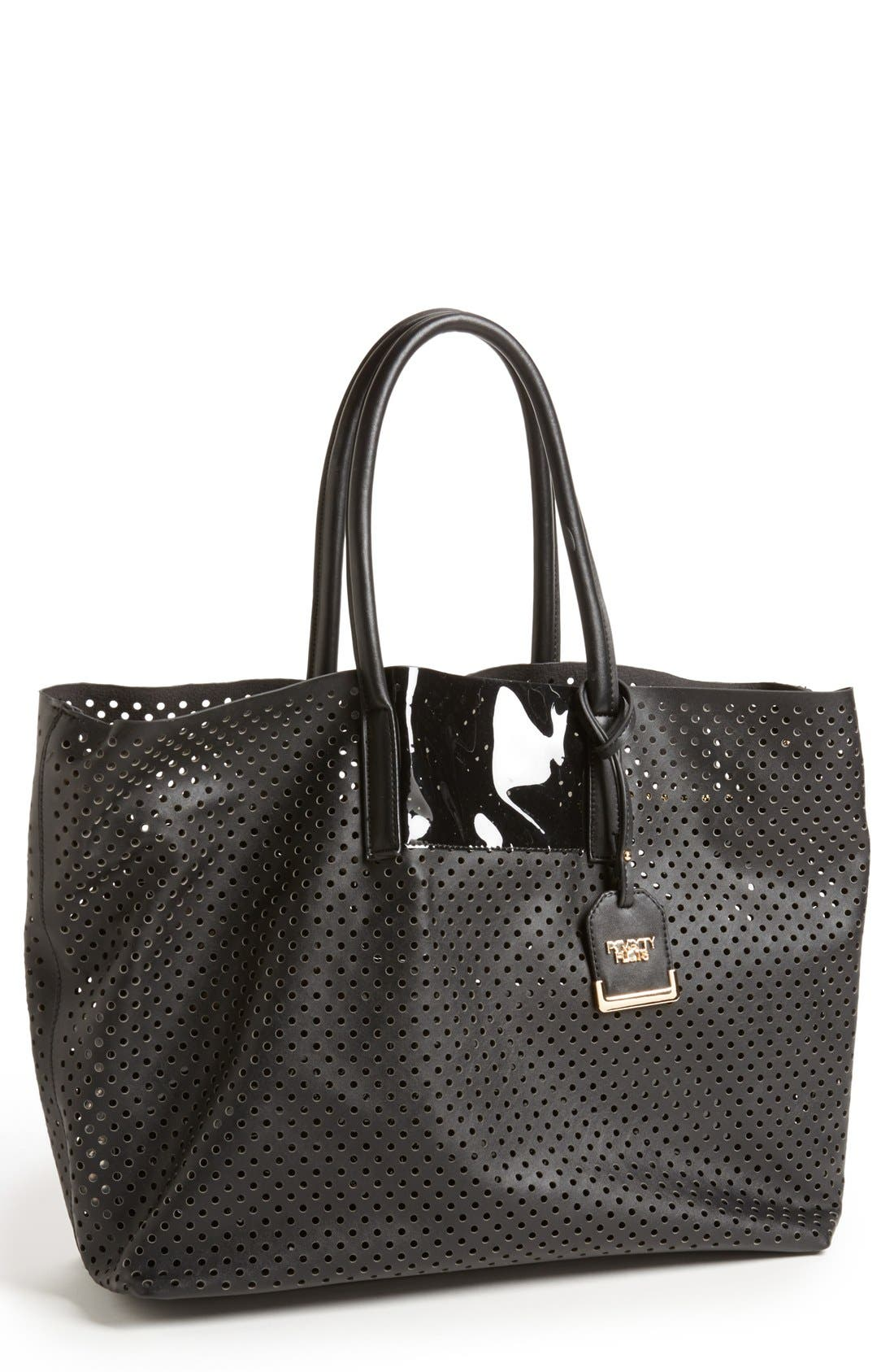 Perforated Tote, Main, color, 001