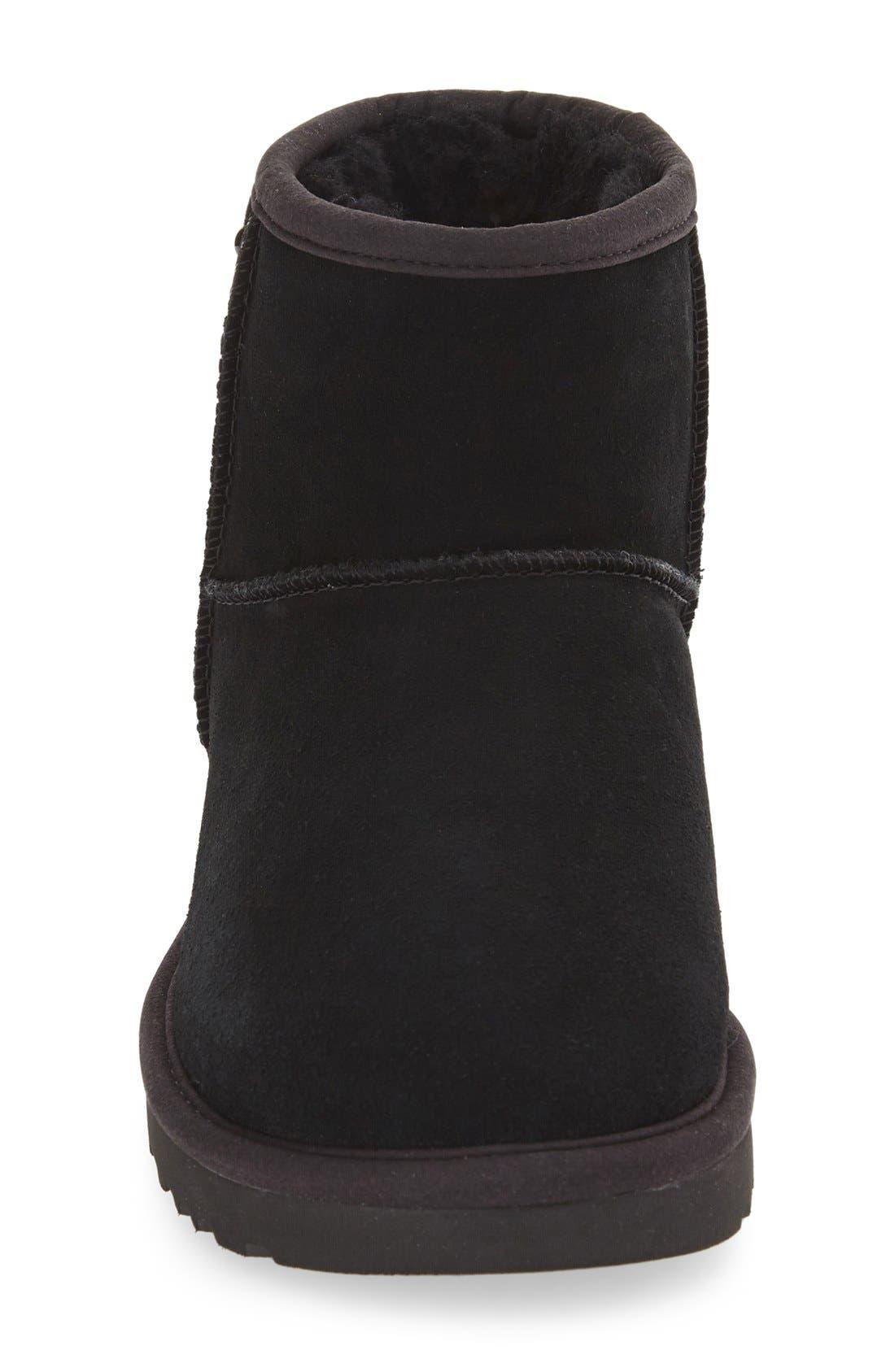 'Mini Classic - Pearls' Boot,                             Alternate thumbnail 3, color,                             001