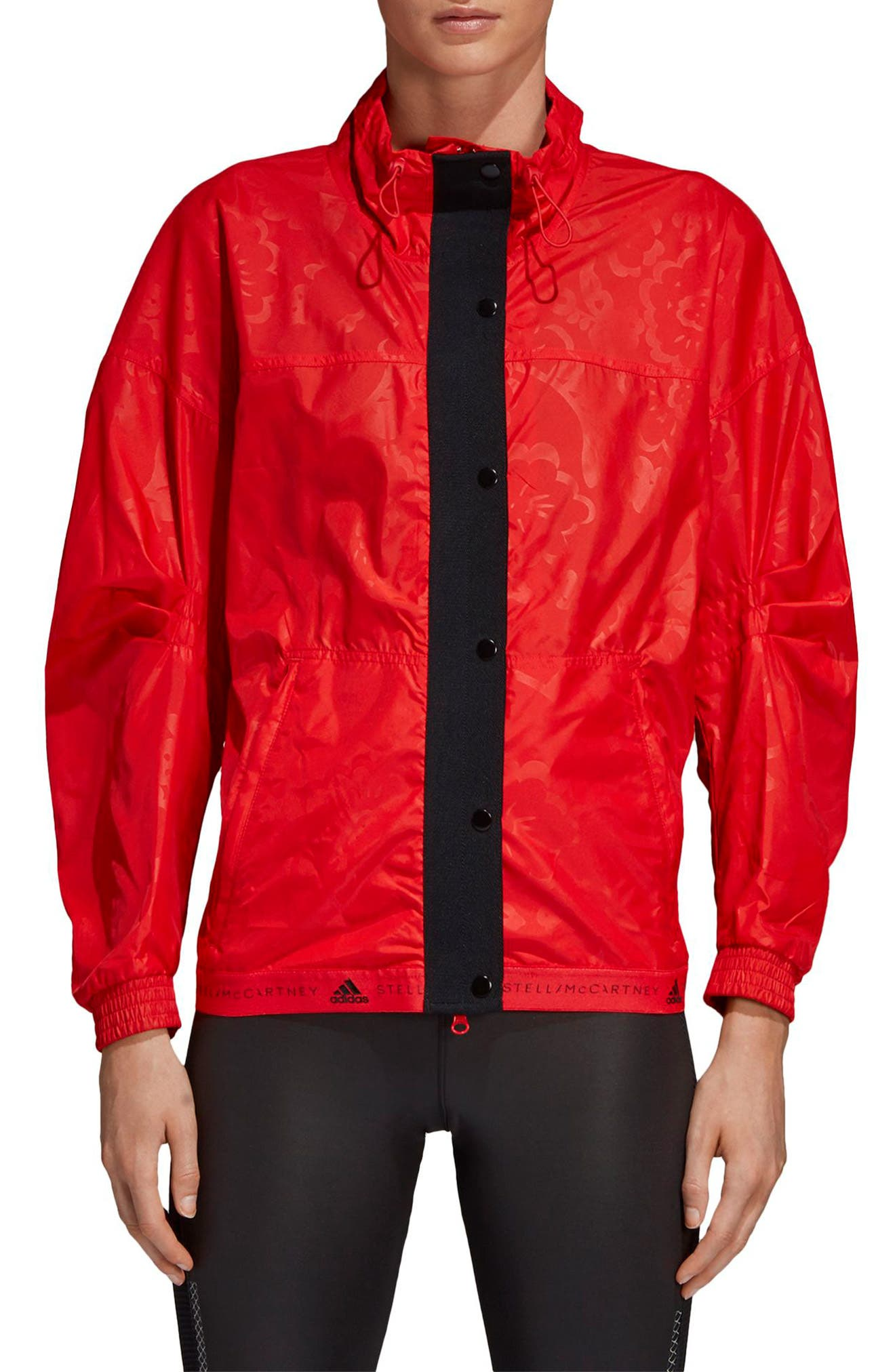 Run Wind Jacket,                         Main,                         color, CORRED