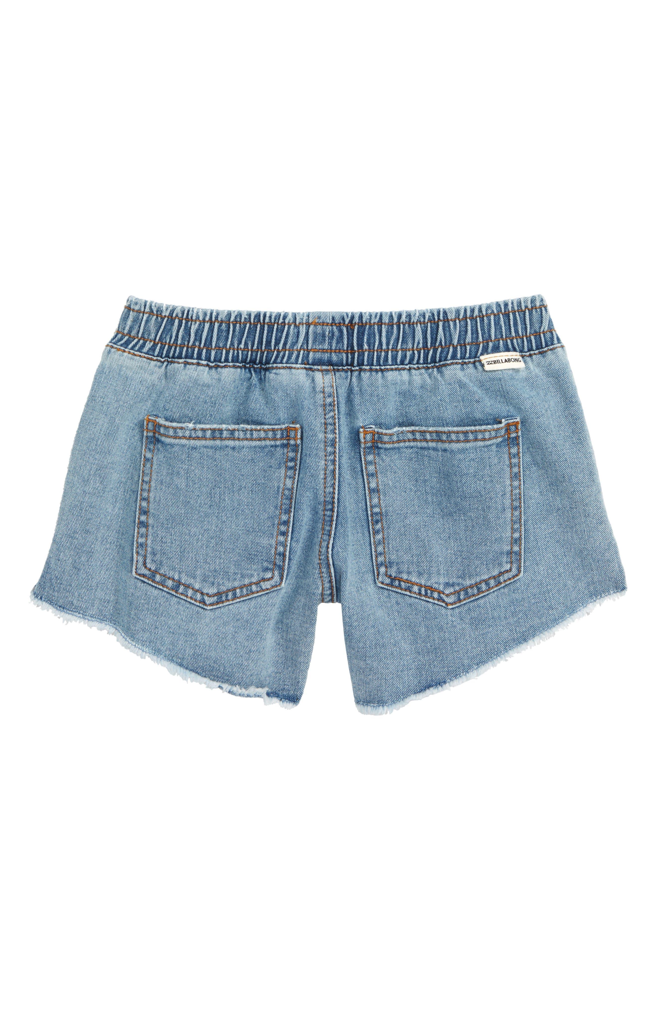 Wild Sun Cutoff Shorts,                             Alternate thumbnail 2, color,                             INDIGO