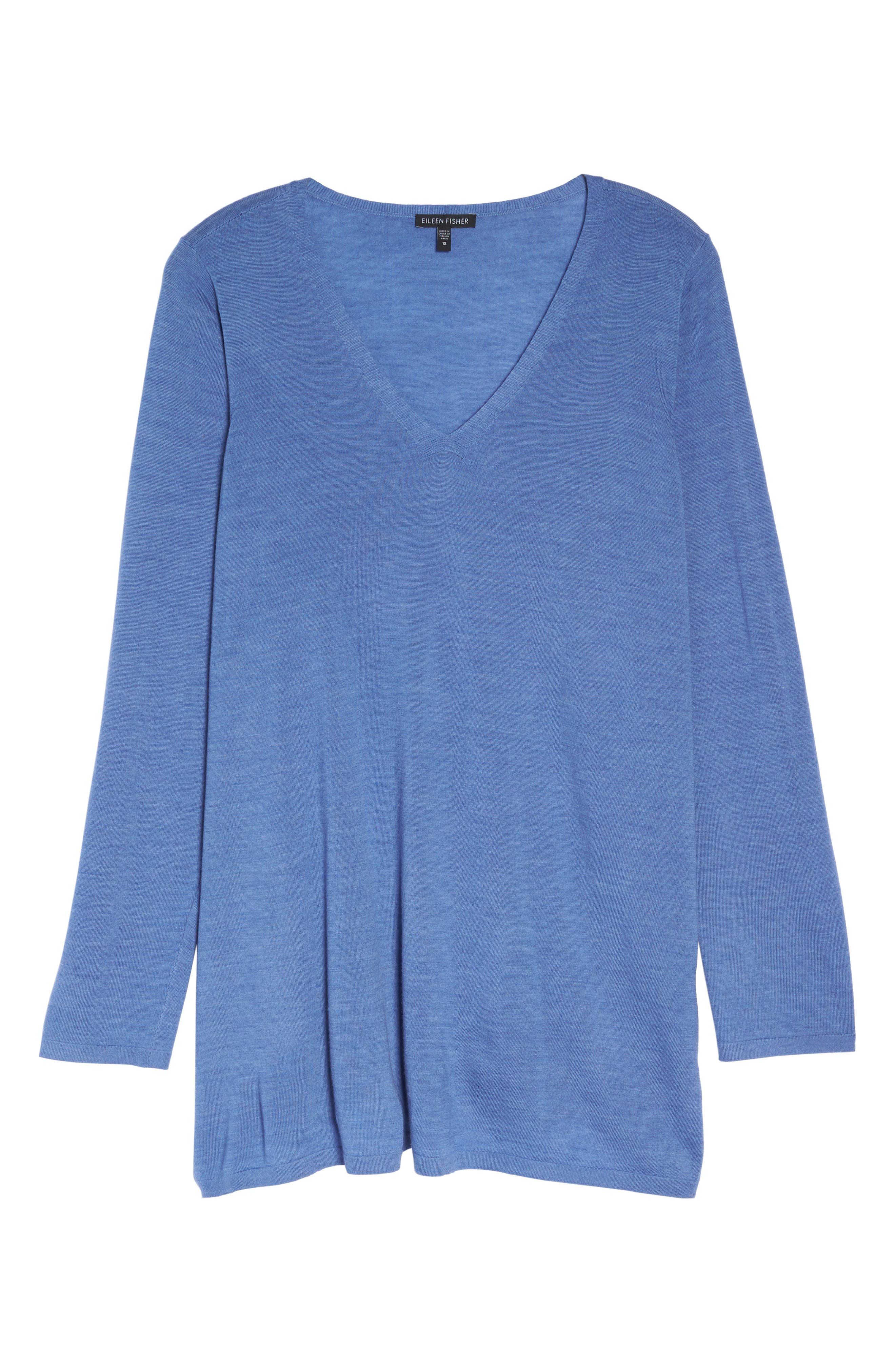 Merino Wool Tunic Sweater,                             Alternate thumbnail 28, color,