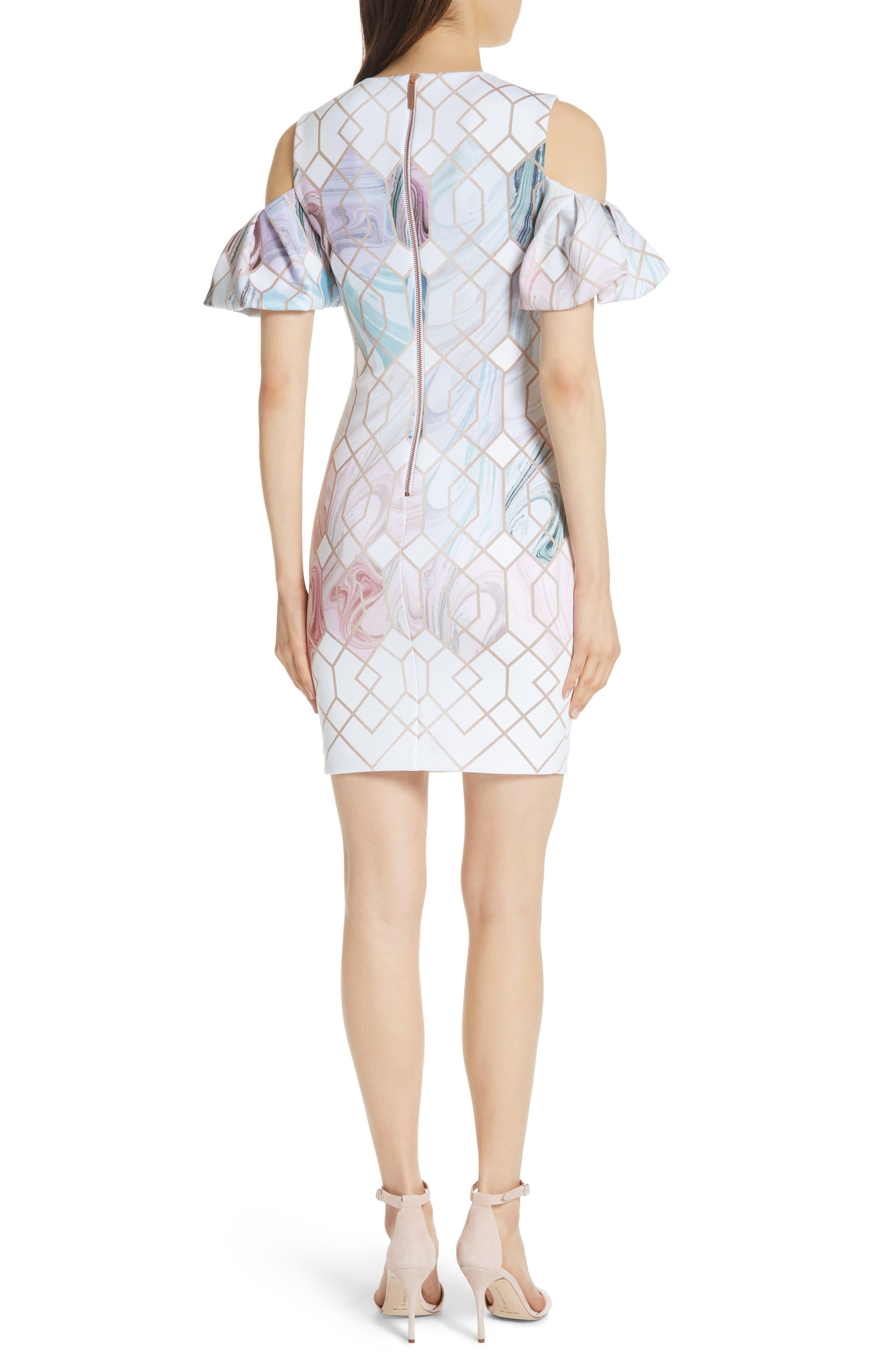 Krimba Sea of Clouds Sheath Dress,                             Alternate thumbnail 2, color,                             110
