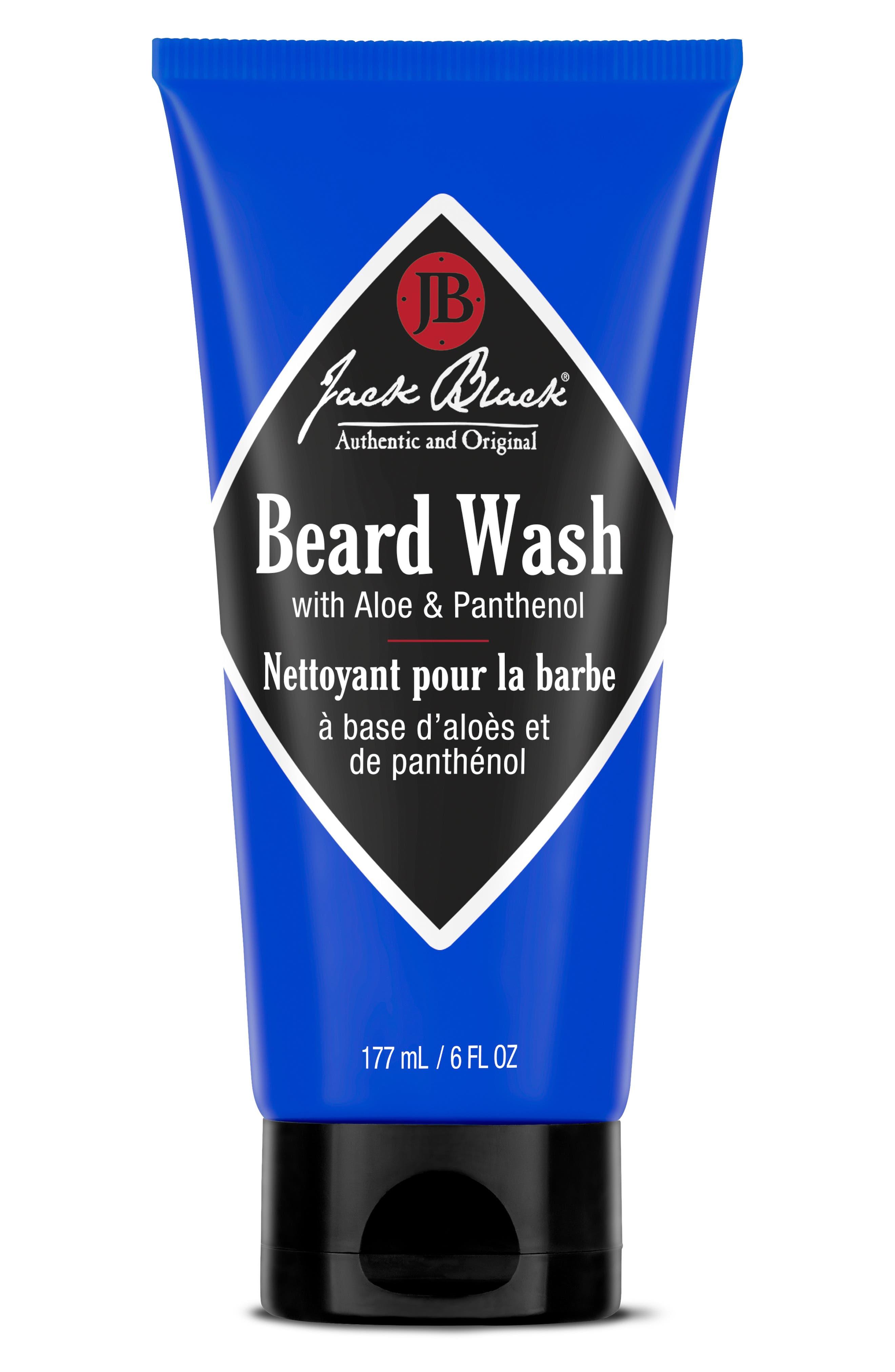 JACK BLACK Beard Wash, Main, color, NO COLOR
