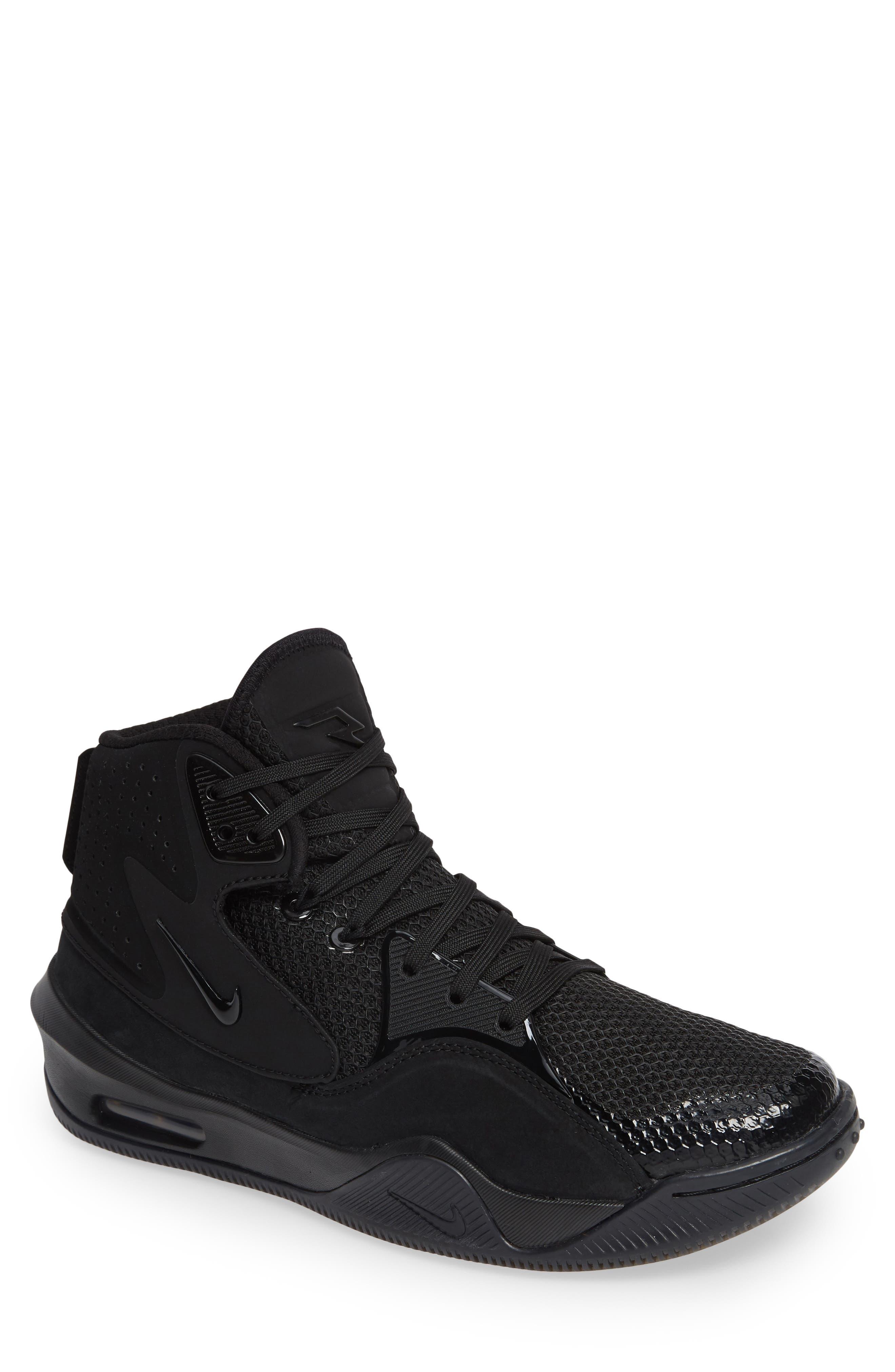 Dangeruss Wilson 1 Sneaker,                         Main,                         color, BLACK/ METALLIC GOLD