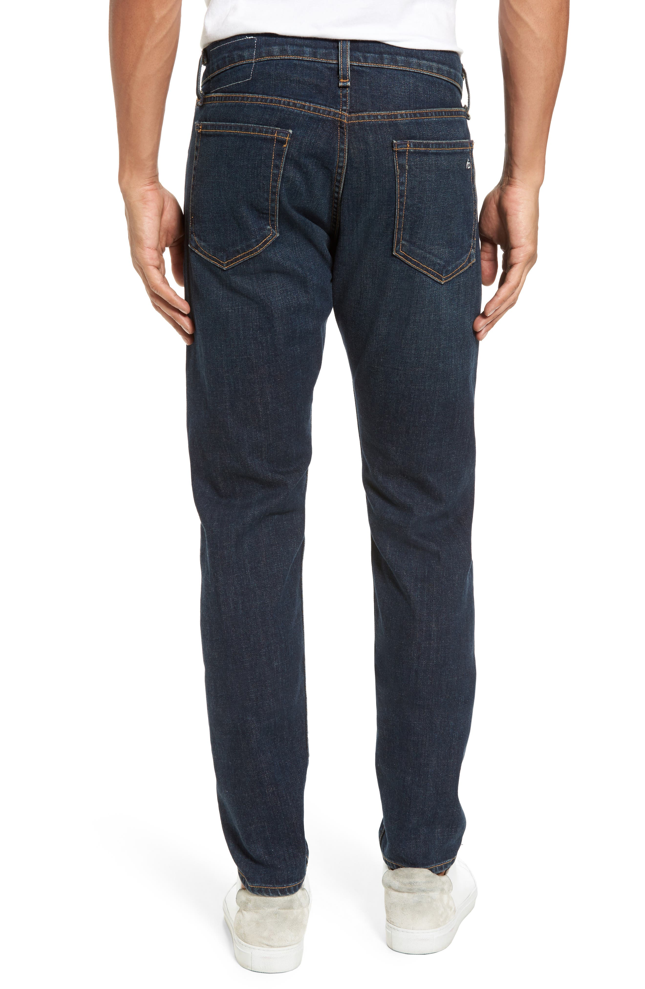 Fit 1 Skinny Fit Jeans,                             Alternate thumbnail 2, color,                             407