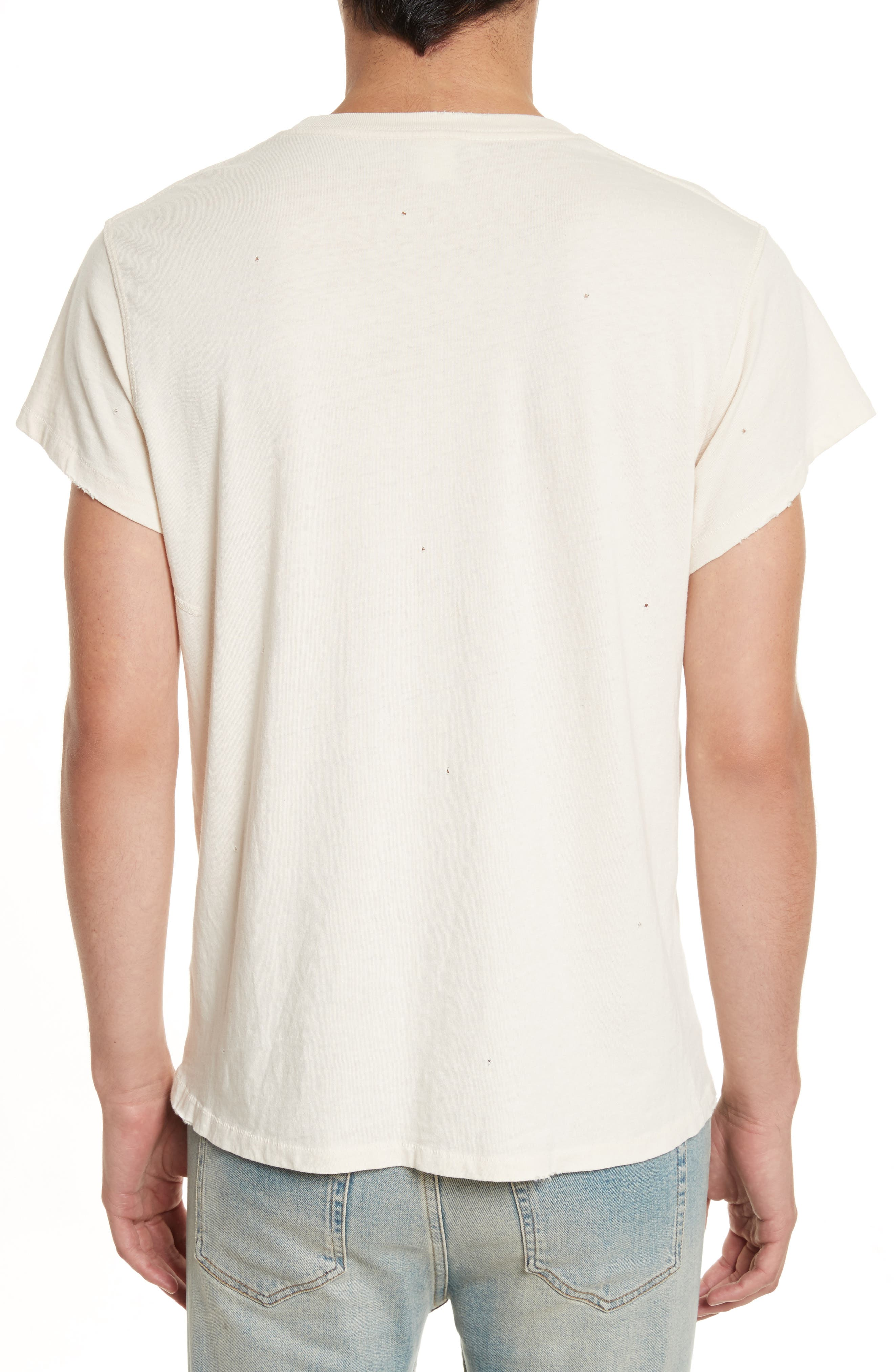 Woodstock Graphic T-Shirt with Badges,                             Alternate thumbnail 2, color,                             100