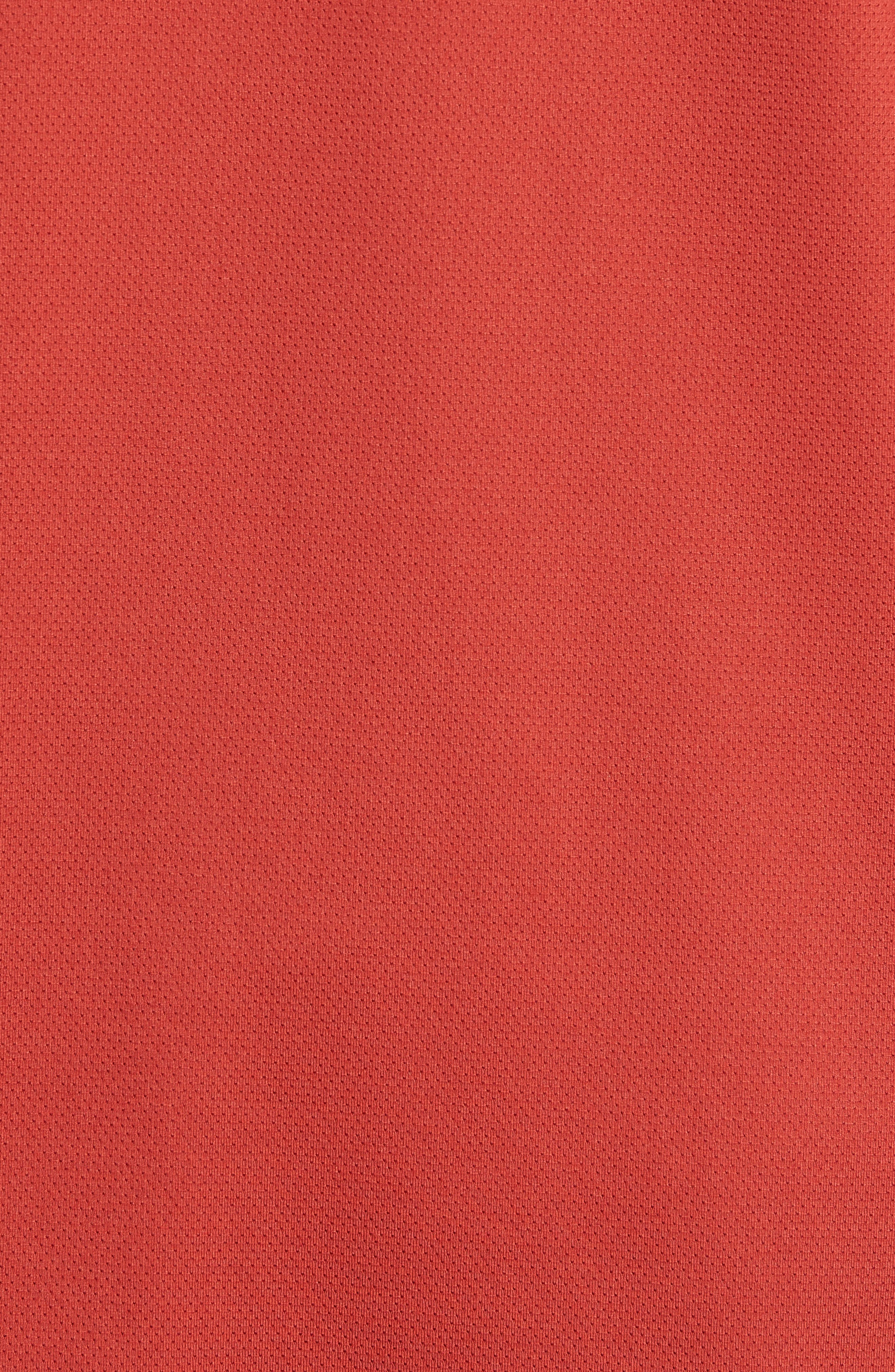 NIKE,                             Element HZ 2.0 Performance Pullover,                             Alternate thumbnail 5, color,                             DUNE RED