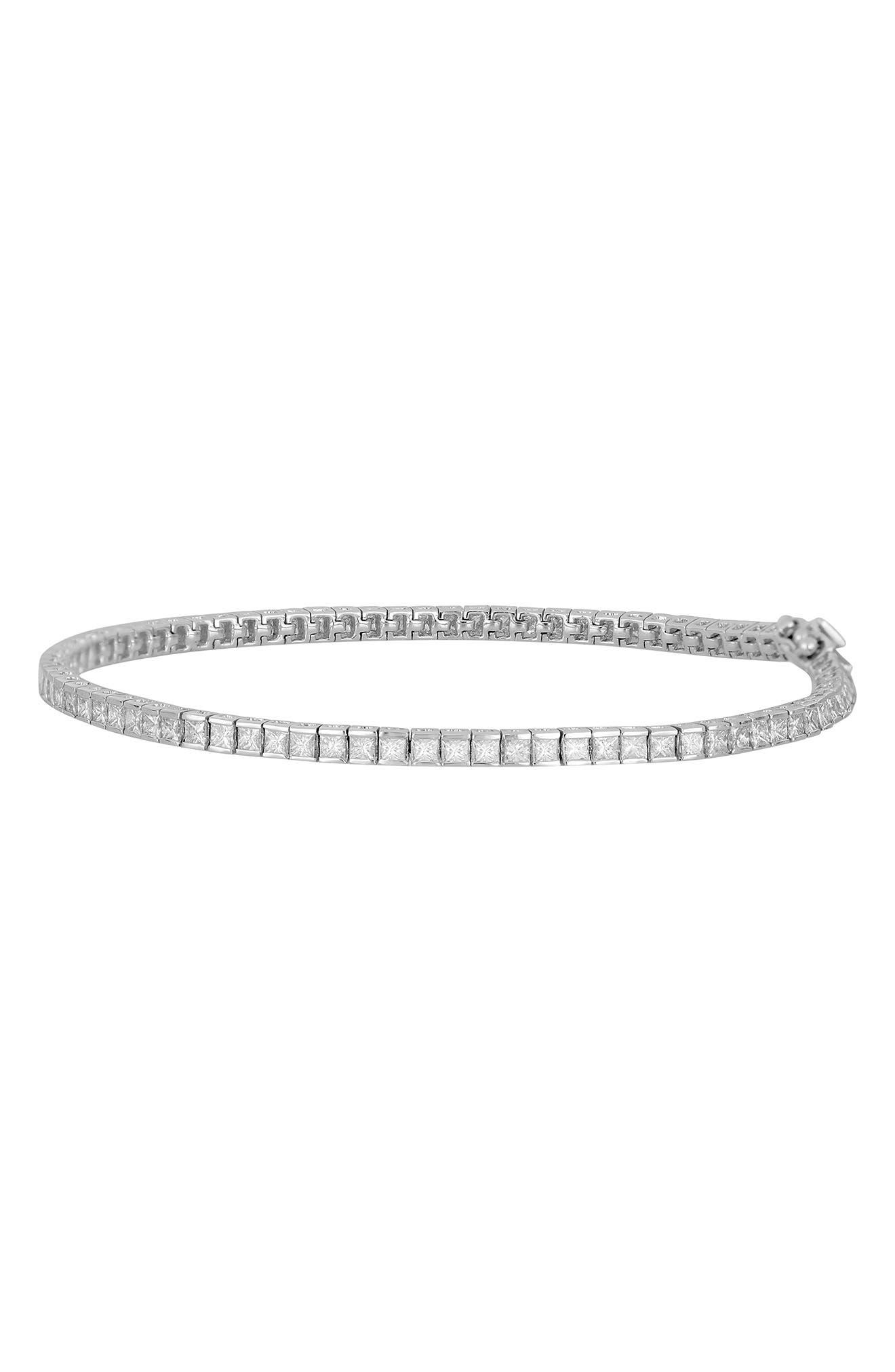 Diamond Line Bracelet, Main, color, 101