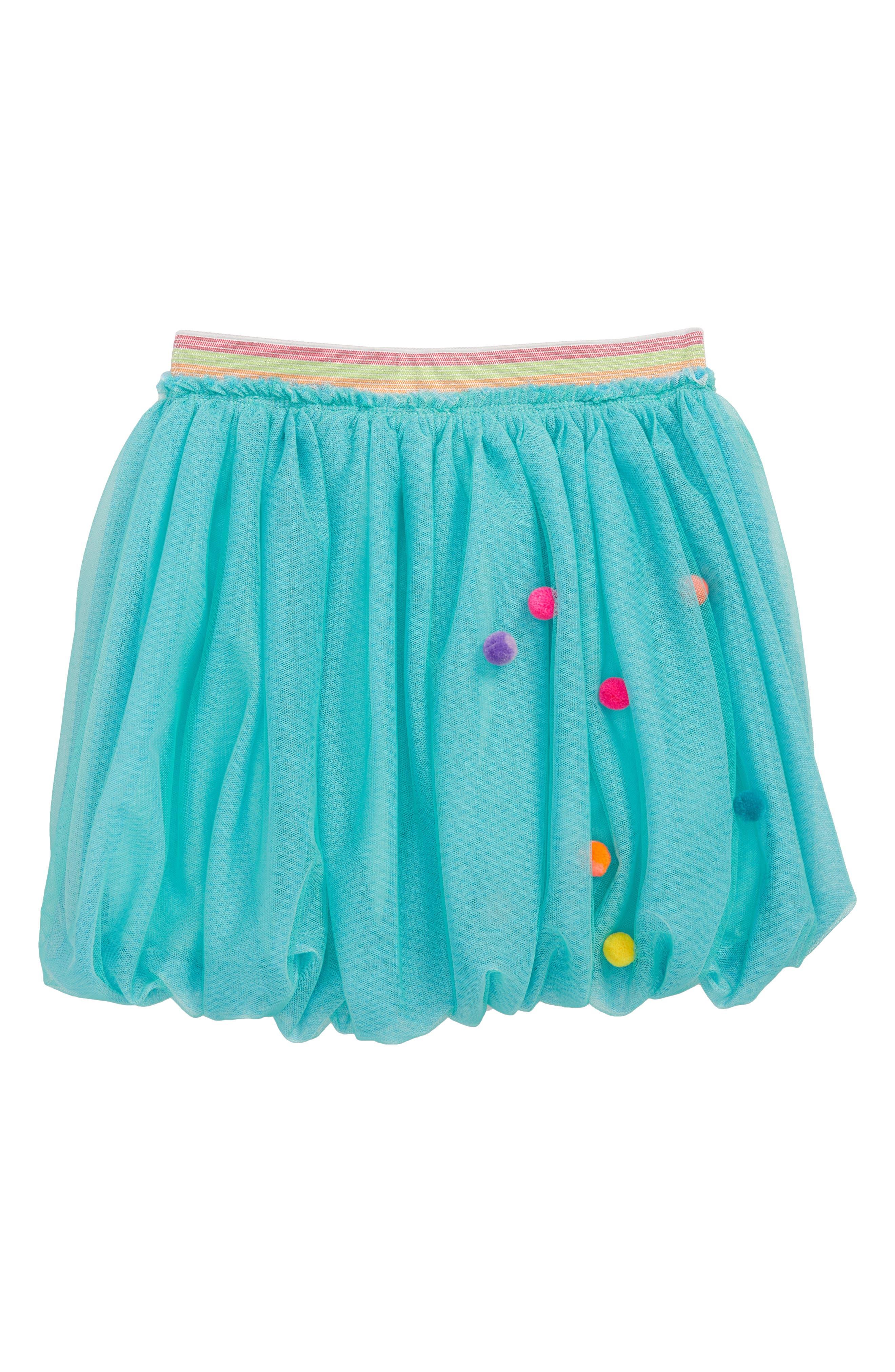 Pompom Bubble Tutu Skirt,                             Main thumbnail 1, color,                             400