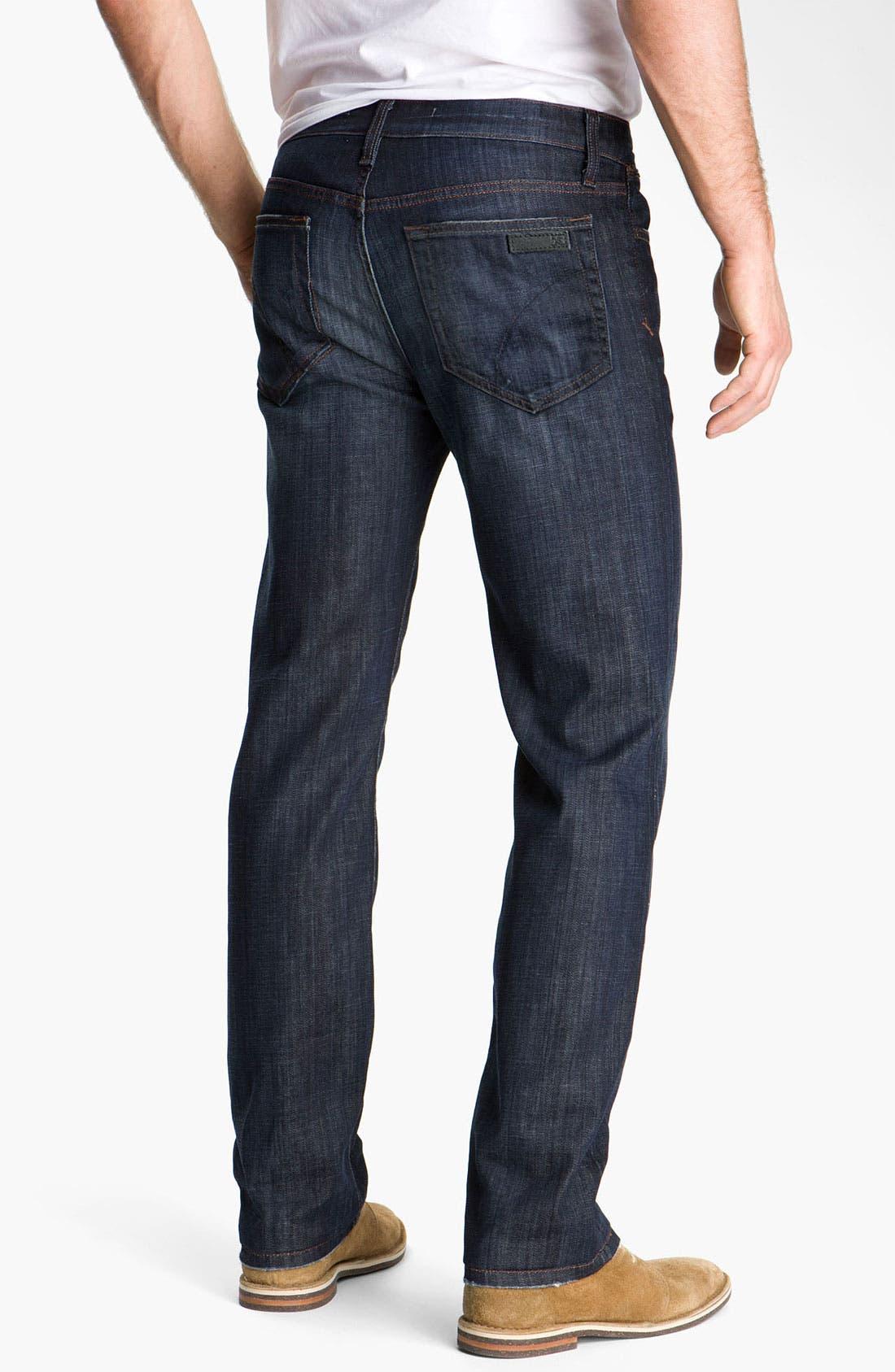 'Classic' Straight Leg Jeans,                             Alternate thumbnail 8, color,                             DIXON