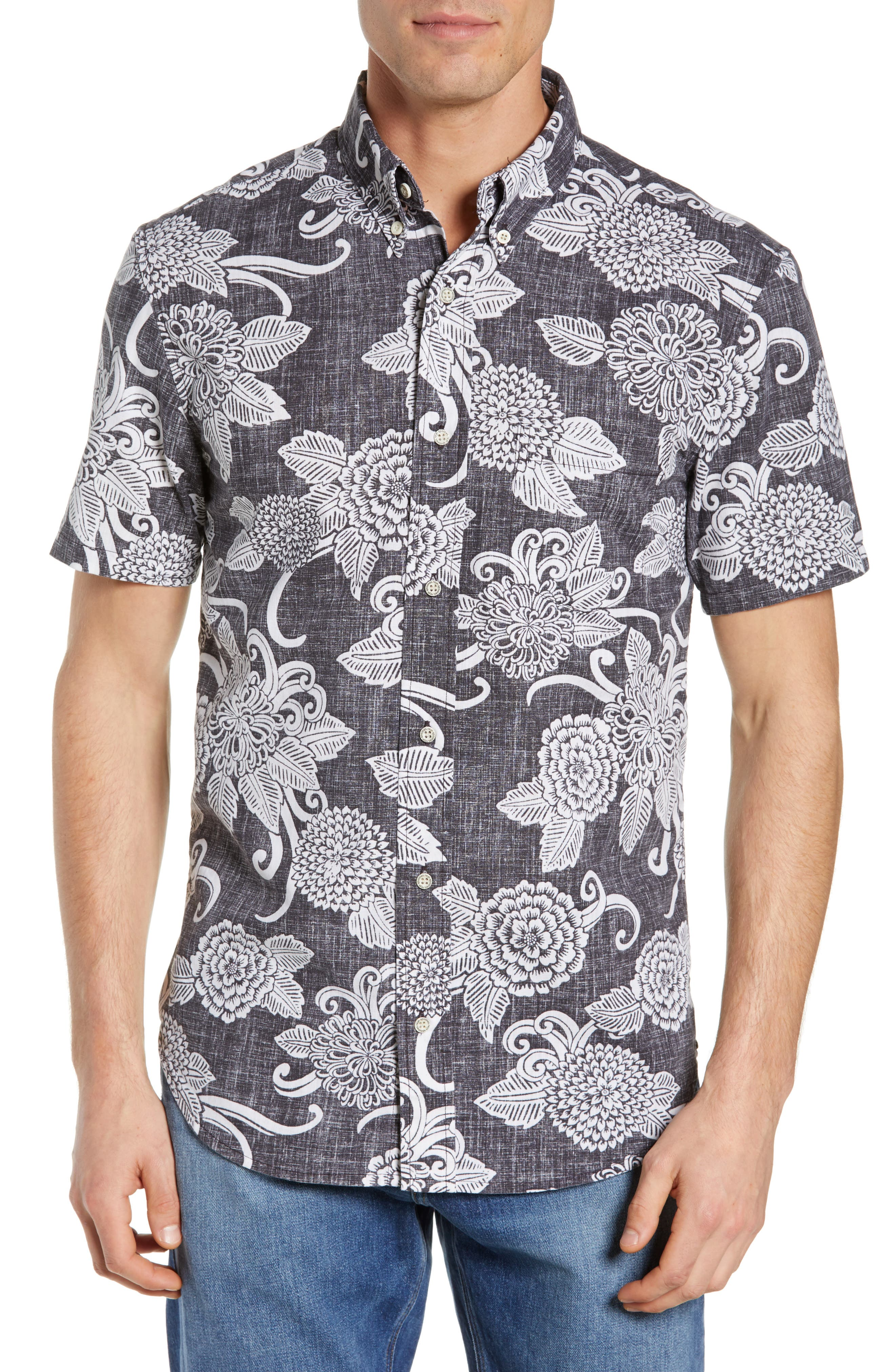 Opti Mums Regular Fit Sport Shirt,                         Main,                         color, BLACK