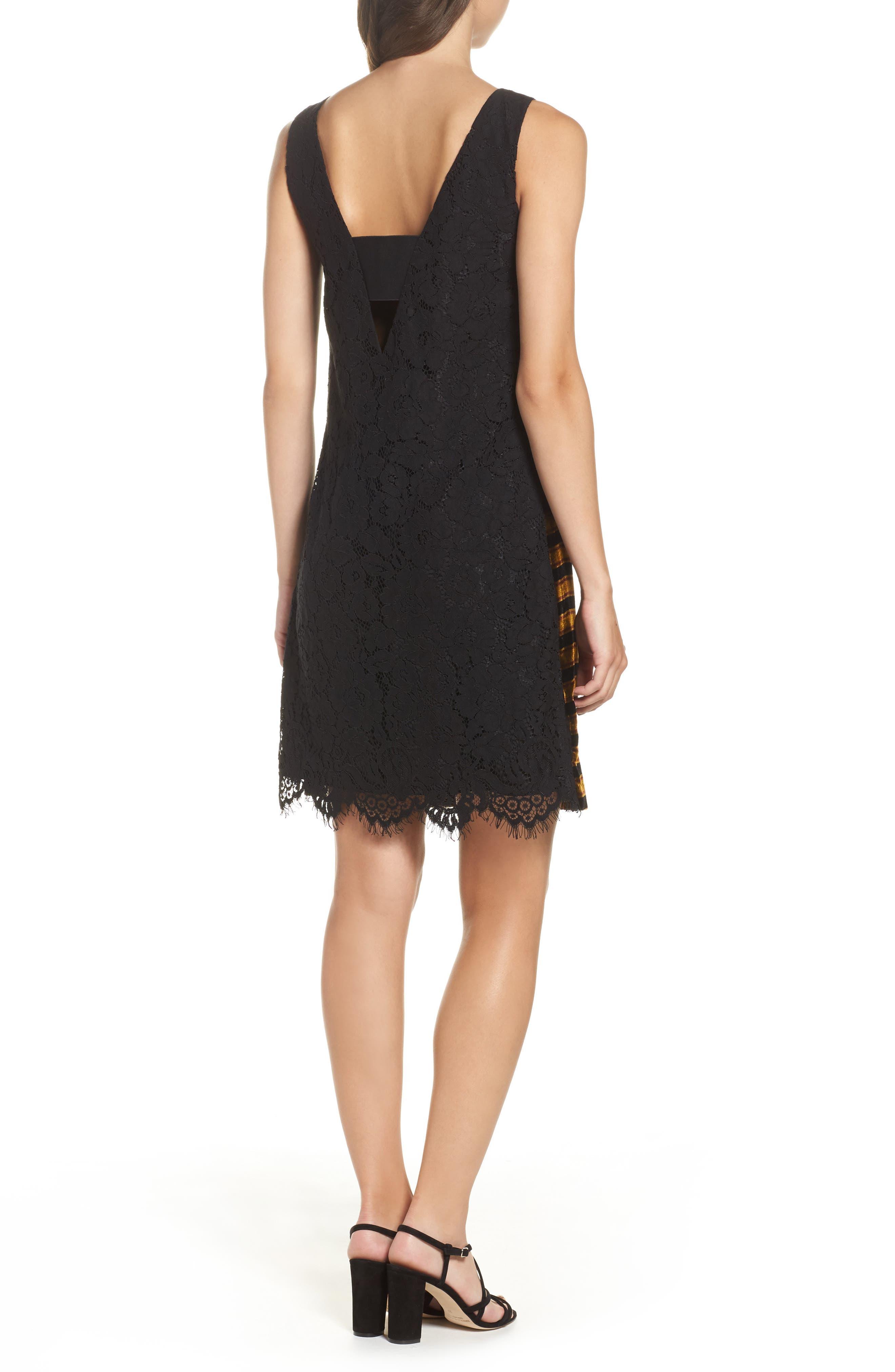 Emma Stripe Dress,                             Alternate thumbnail 2, color,                             015