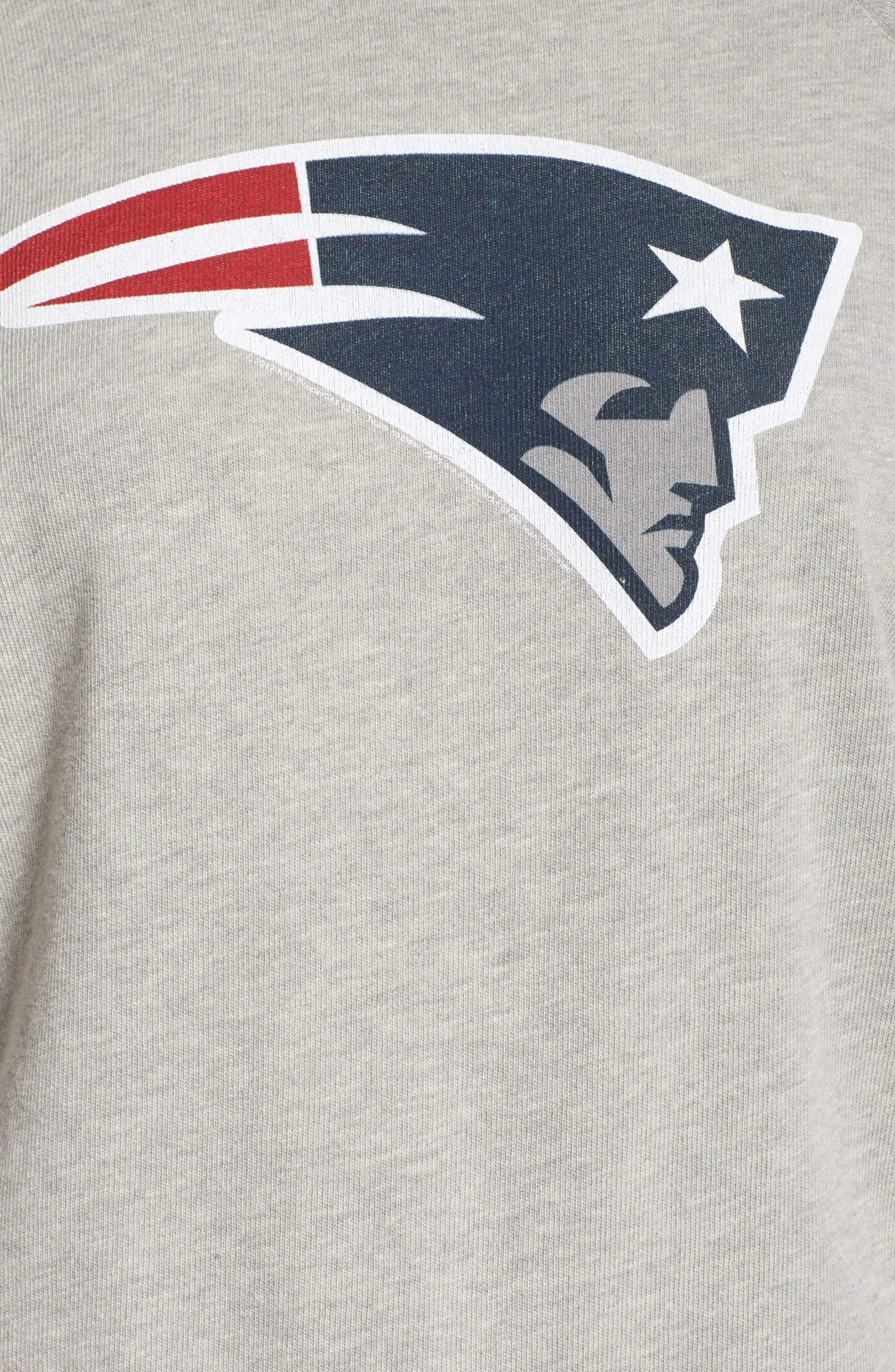 NFL New England Patriots Hacci Sweatshirt,                             Alternate thumbnail 5, color,                             030