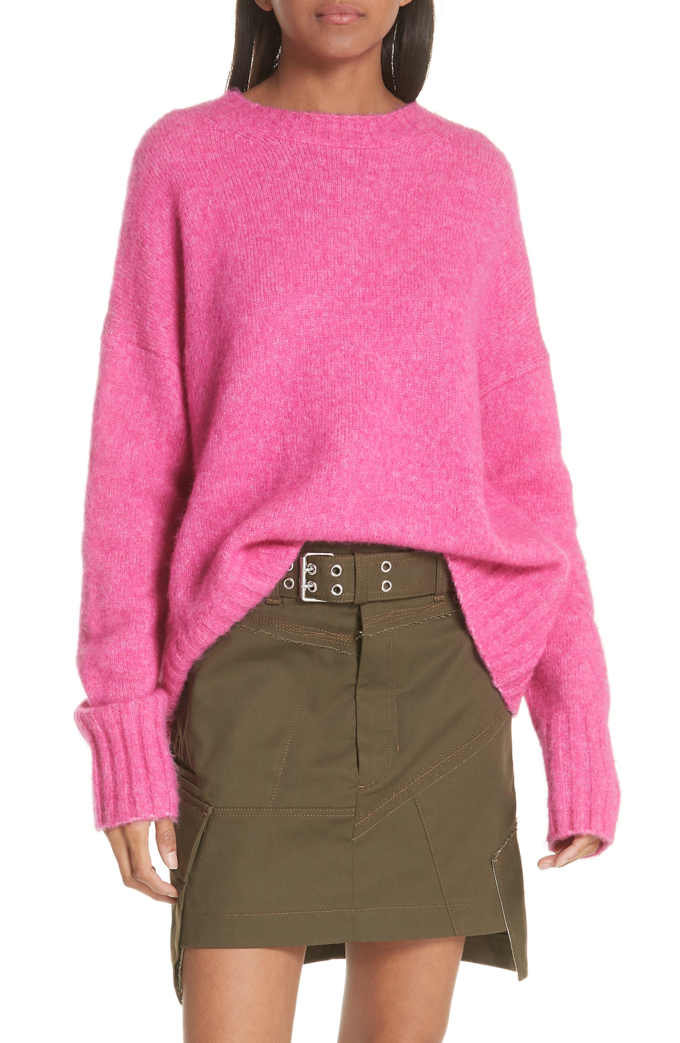 Wool & Alpaca Blend Sweater,                             Main thumbnail 1, color,                             653