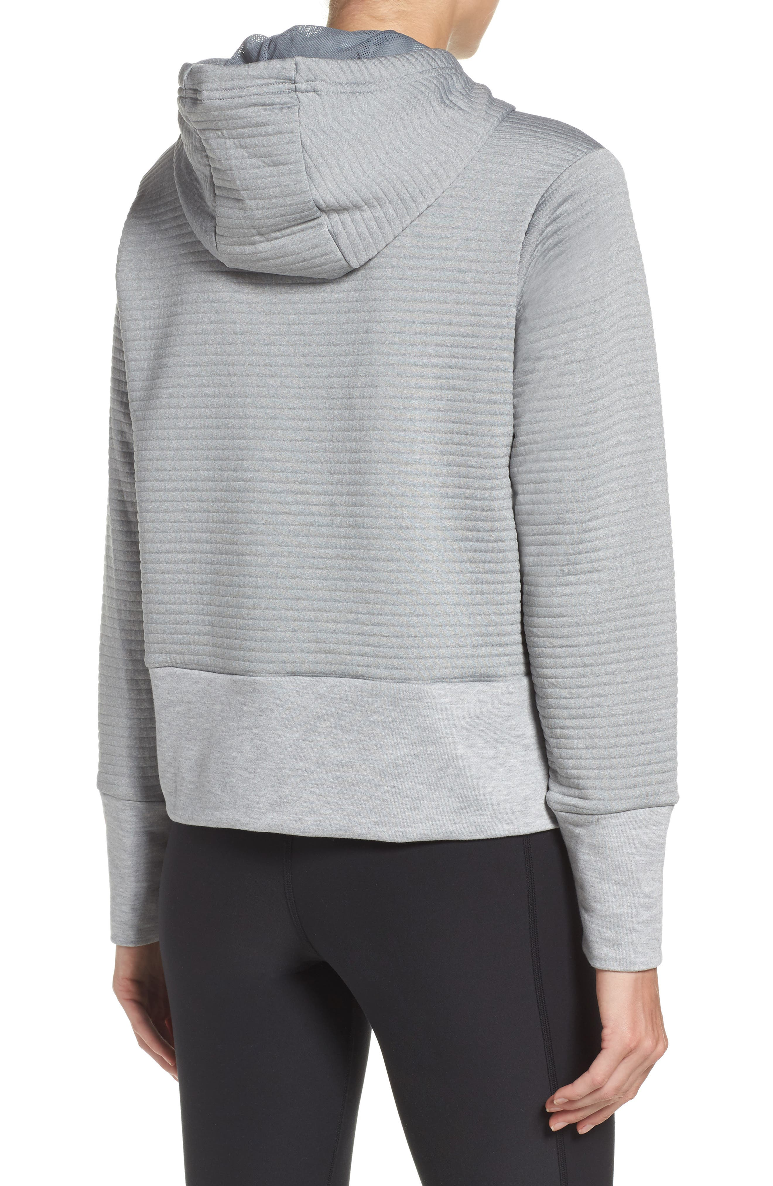 Dry Ribbed Hoodie,                             Alternate thumbnail 4, color,