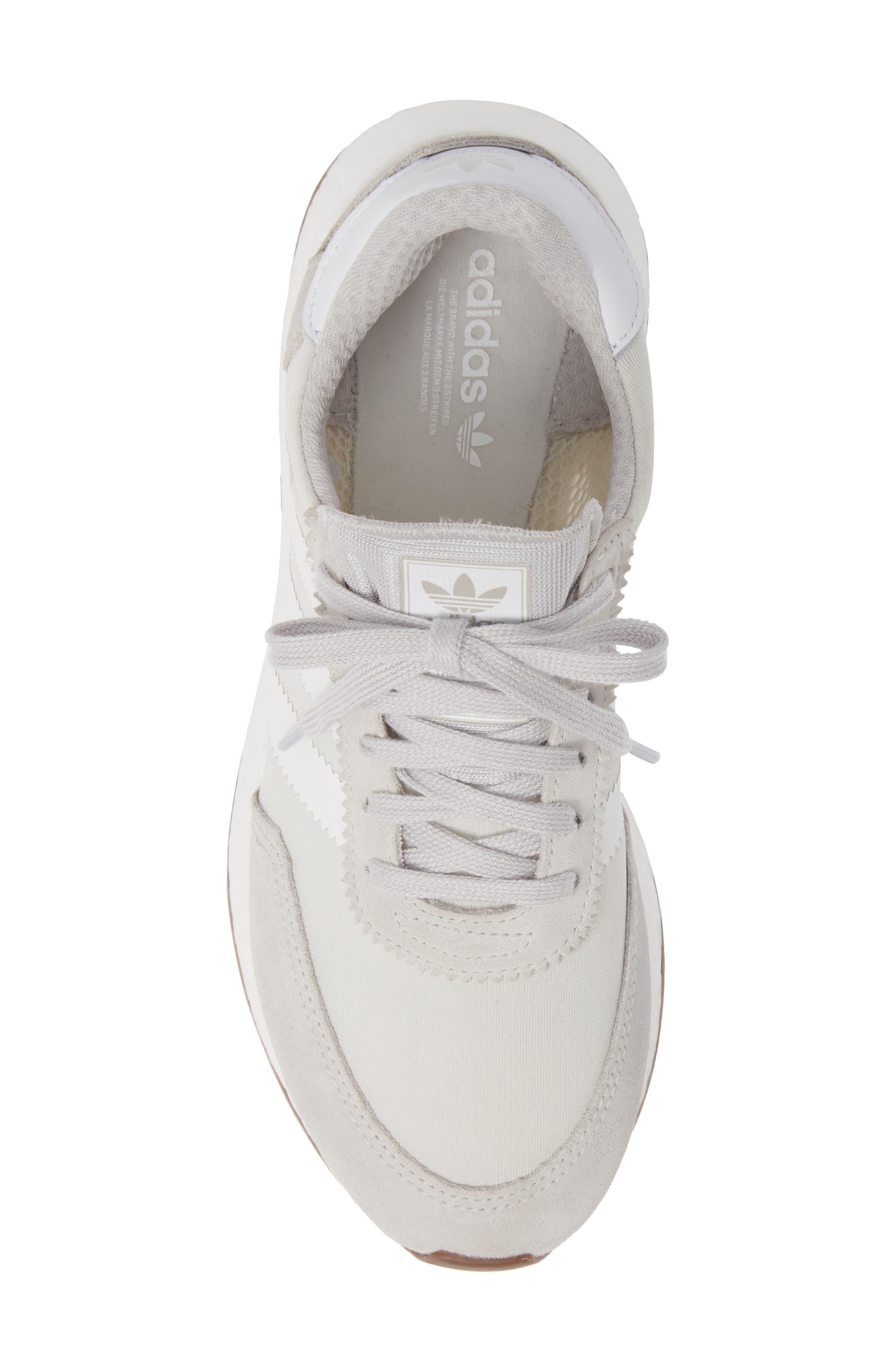 I-5923 Sneaker,                             Alternate thumbnail 5, color,                             GREY ONE/ WHITE/ GREY FIVE
