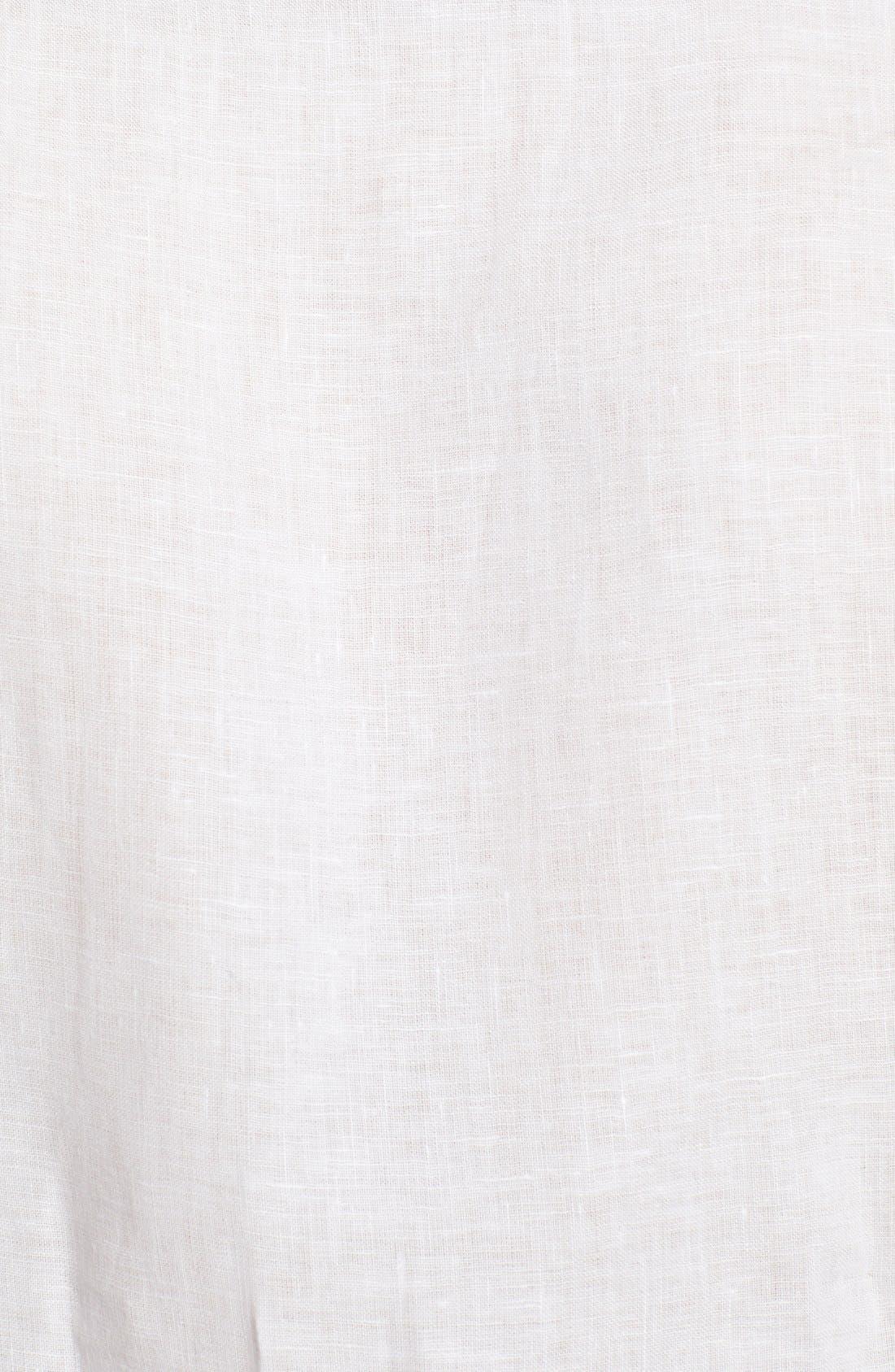 'Caroubier' Linen Shirt,                             Alternate thumbnail 42, color,