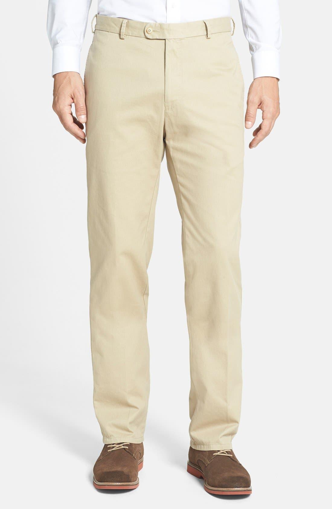 Garment Washed Twill Pants,                             Main thumbnail 6, color,