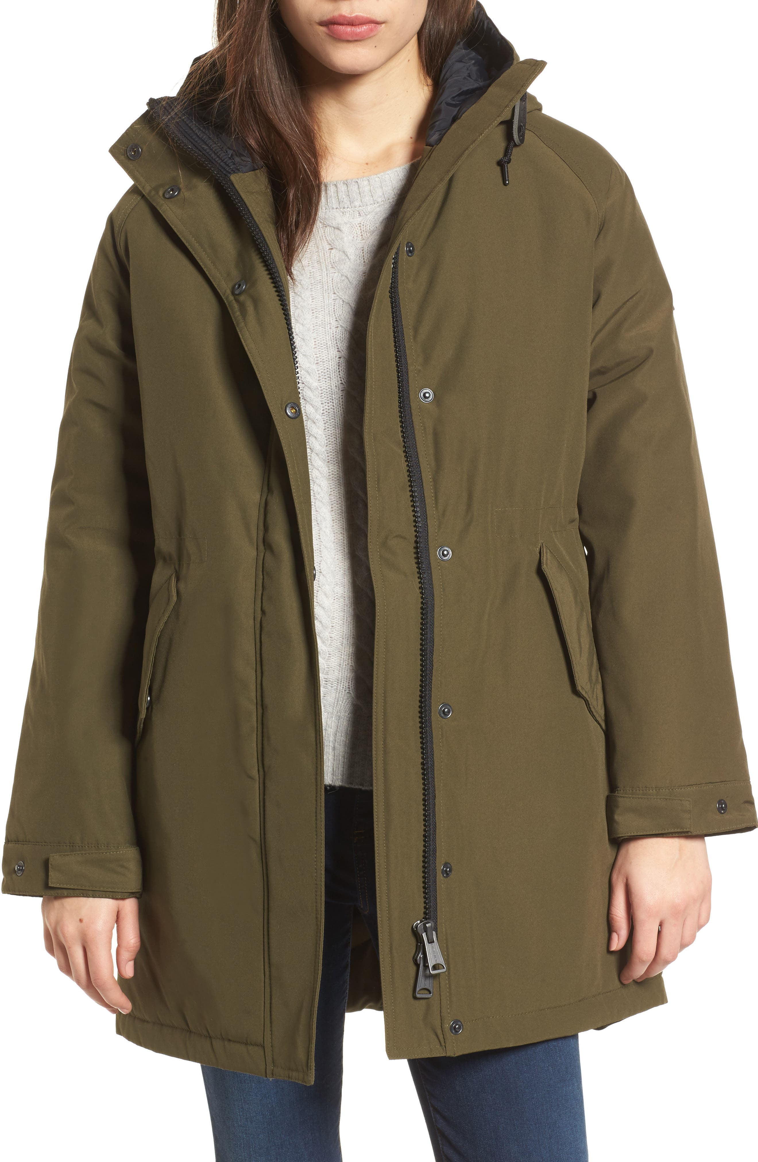 Kingman Hooded Fishtail Parka,                             Main thumbnail 1, color,                             307
