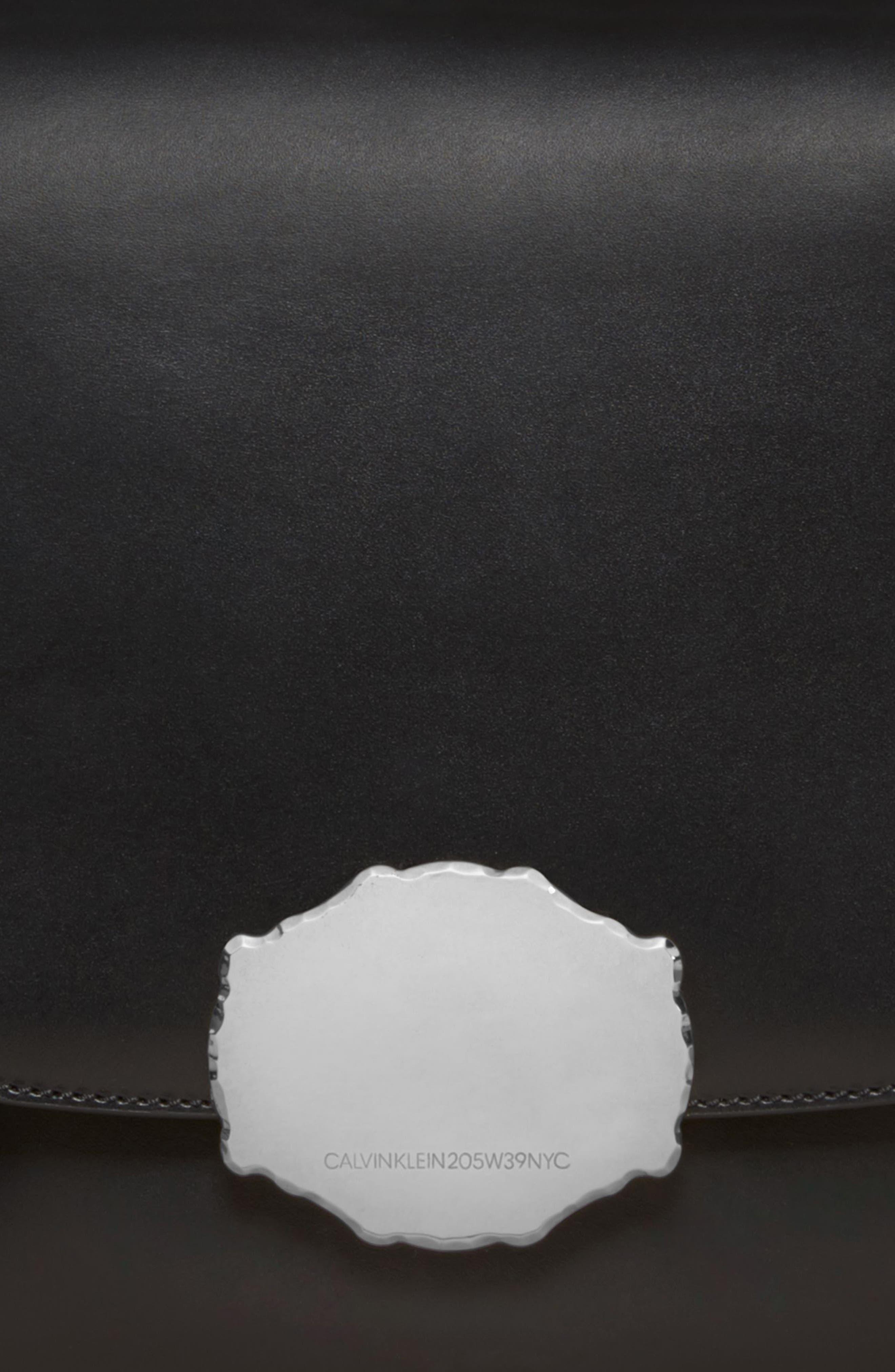 Genuine Calf Hair Shoulder Bag,                             Alternate thumbnail 7, color,