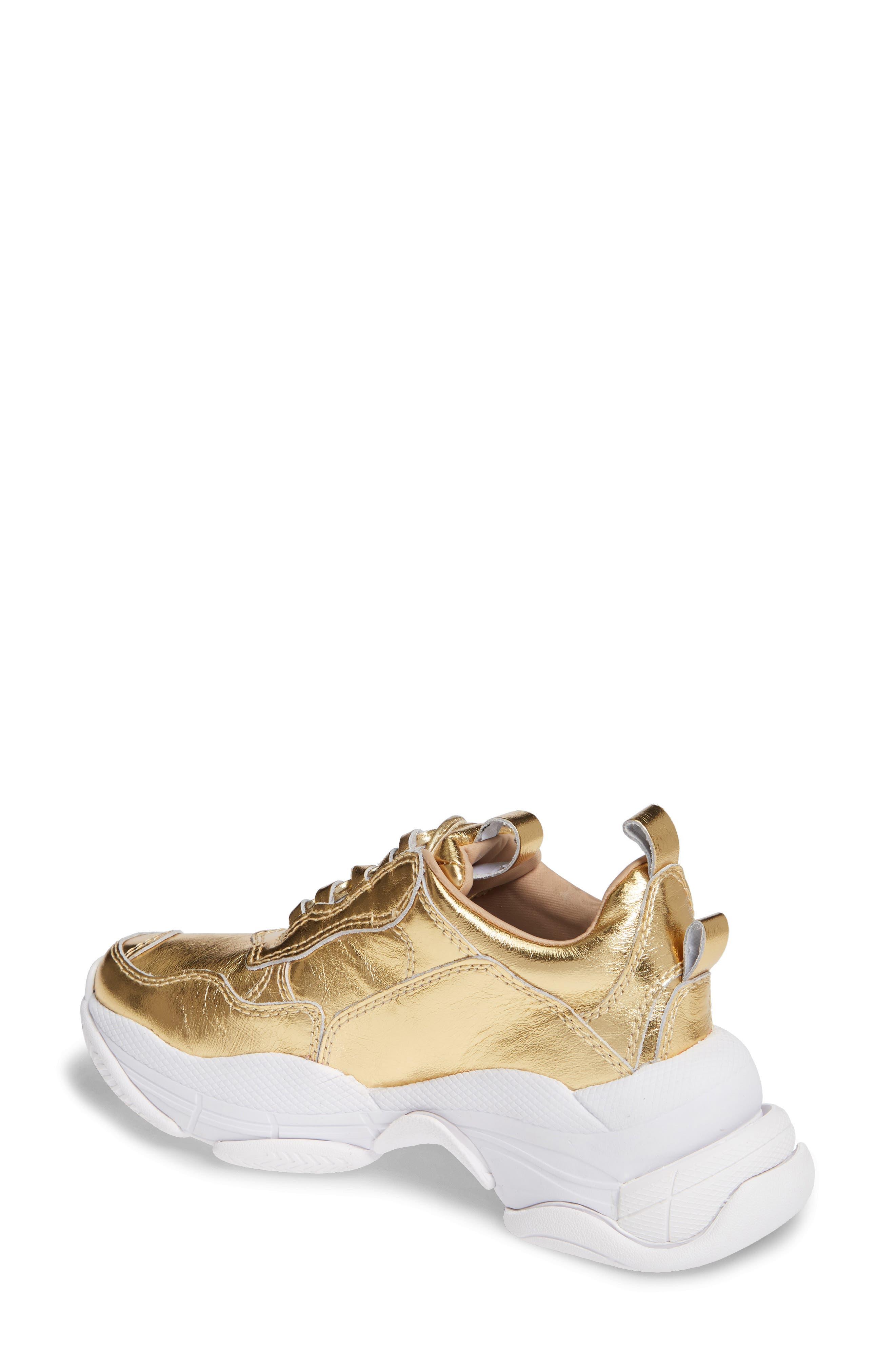 Lo-Fi Sneaker,                             Alternate thumbnail 2, color,                             GOLD CRINKLE