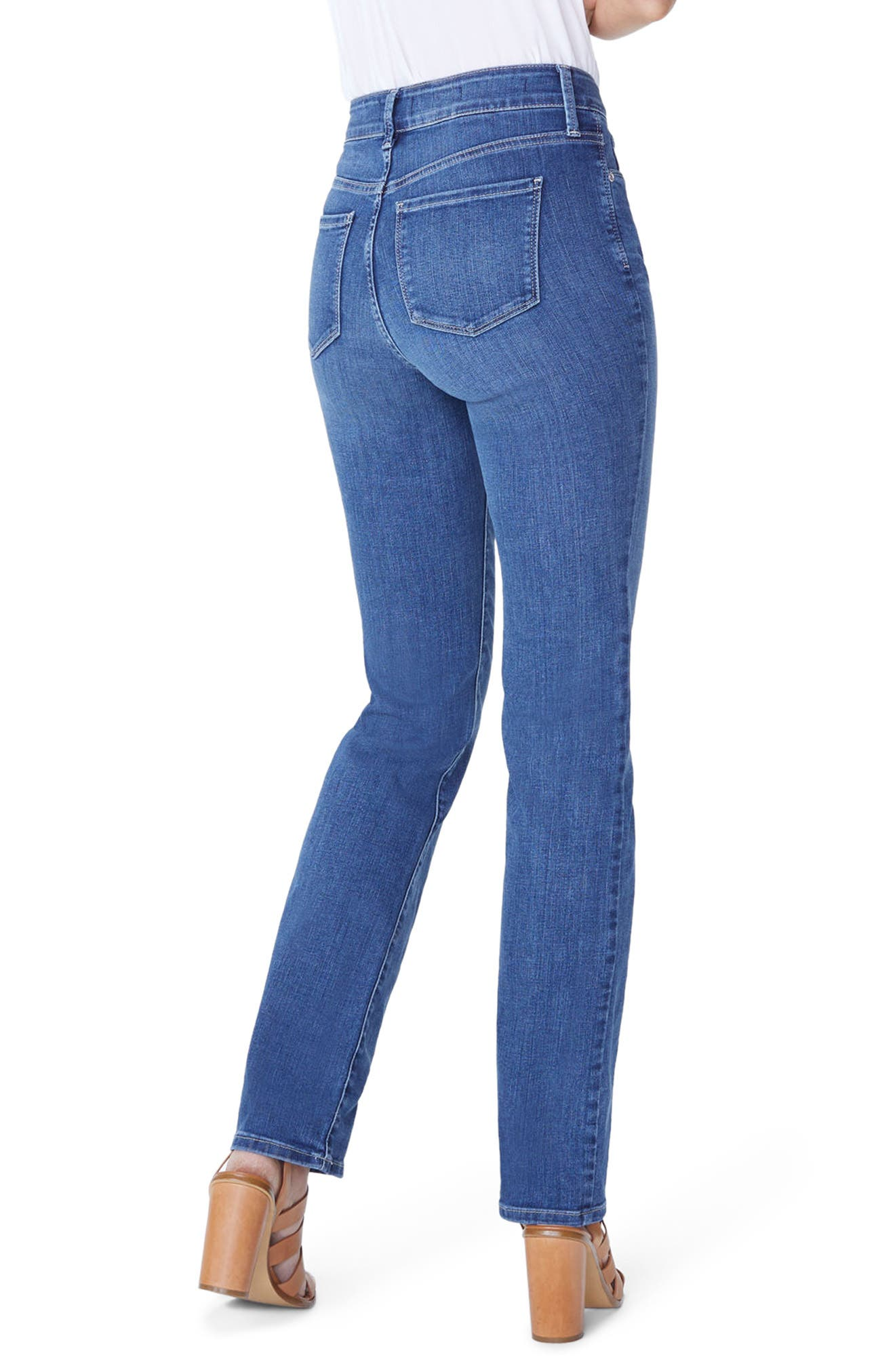 Marilyn Straight Leg Jeans,                             Alternate thumbnail 2, color,