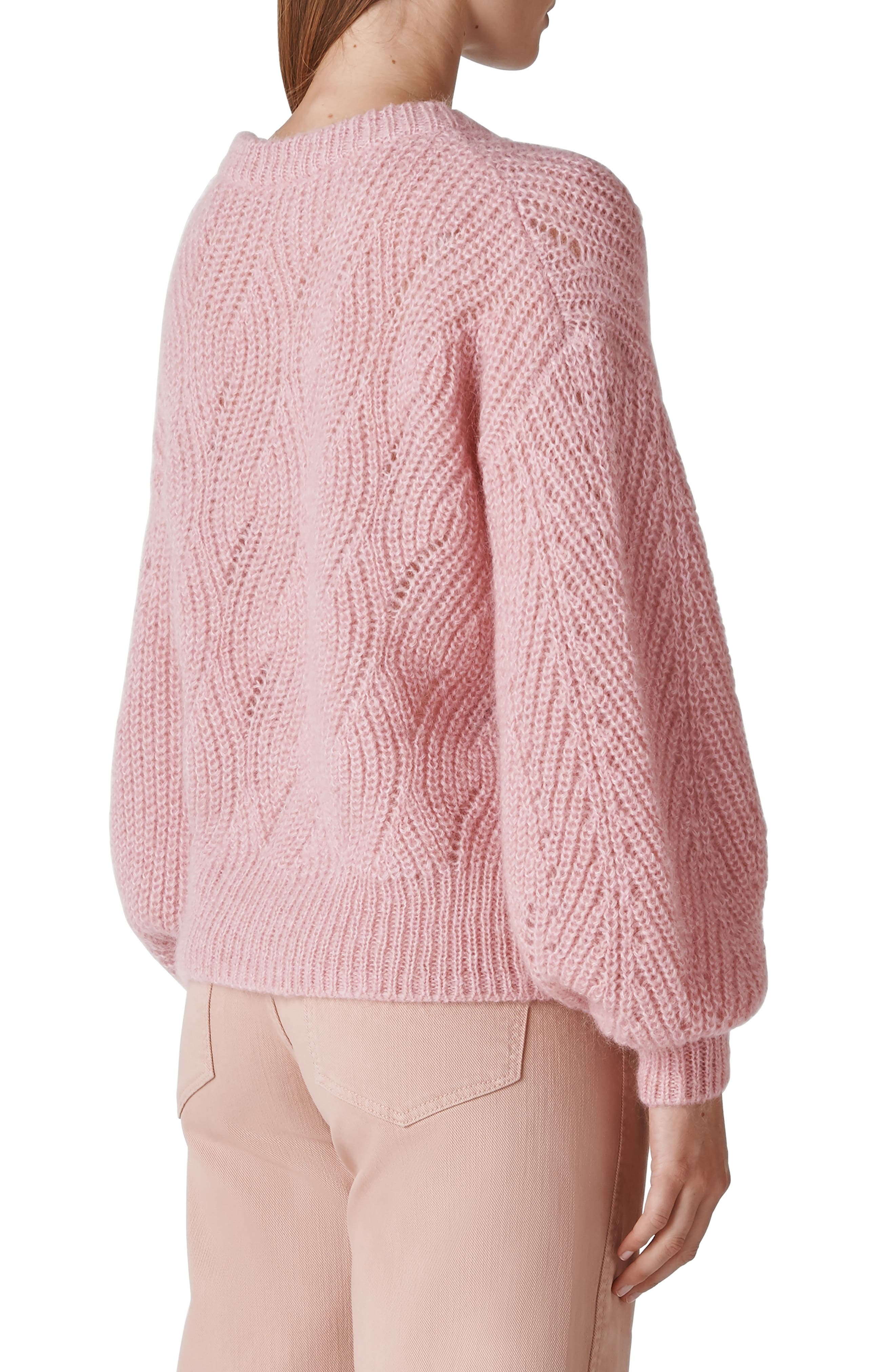 Sophia Sweater,                             Alternate thumbnail 2, color,                             PINK